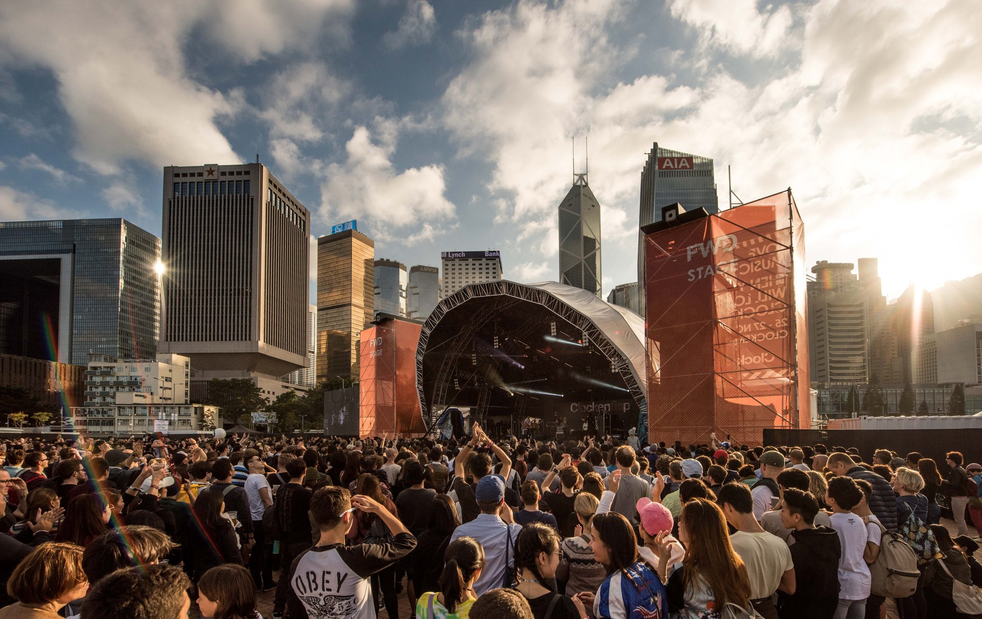 Best time to see Clockenflap in Hong Kong