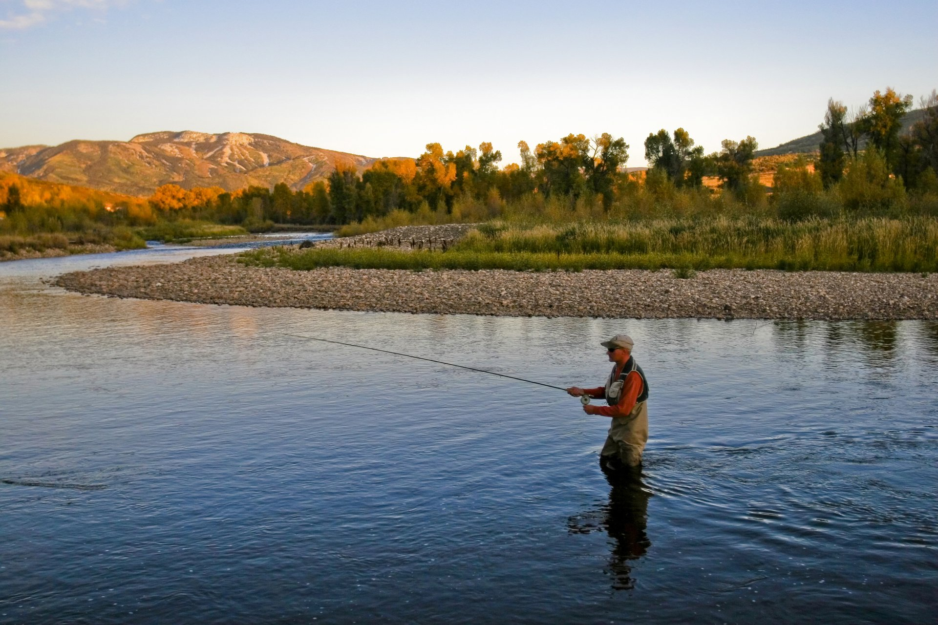 Fly-fishing near Steamboat Springs 2019