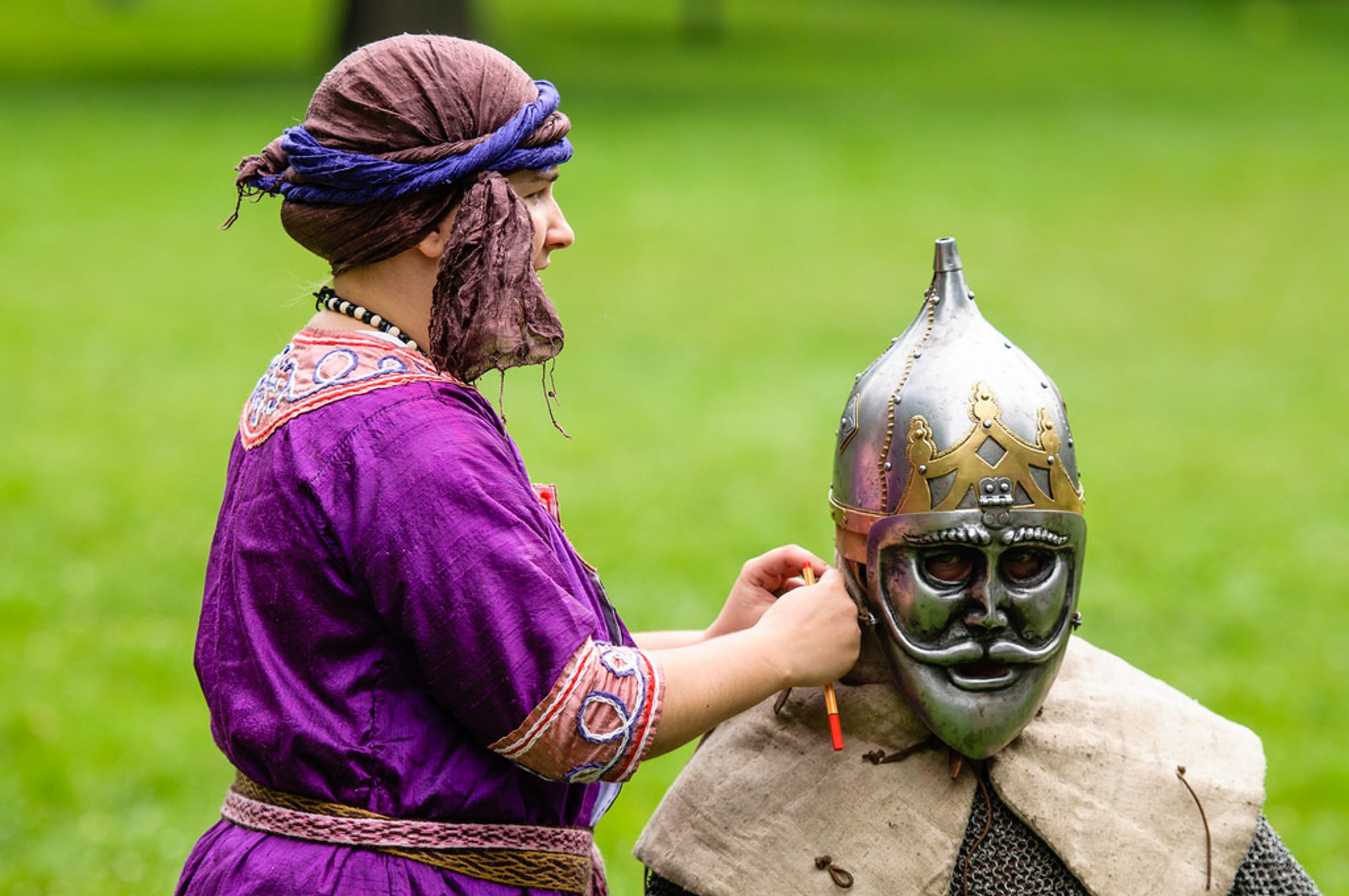 Best time for Medieval Knights Show at the Devín Castle in Slovakia 2019