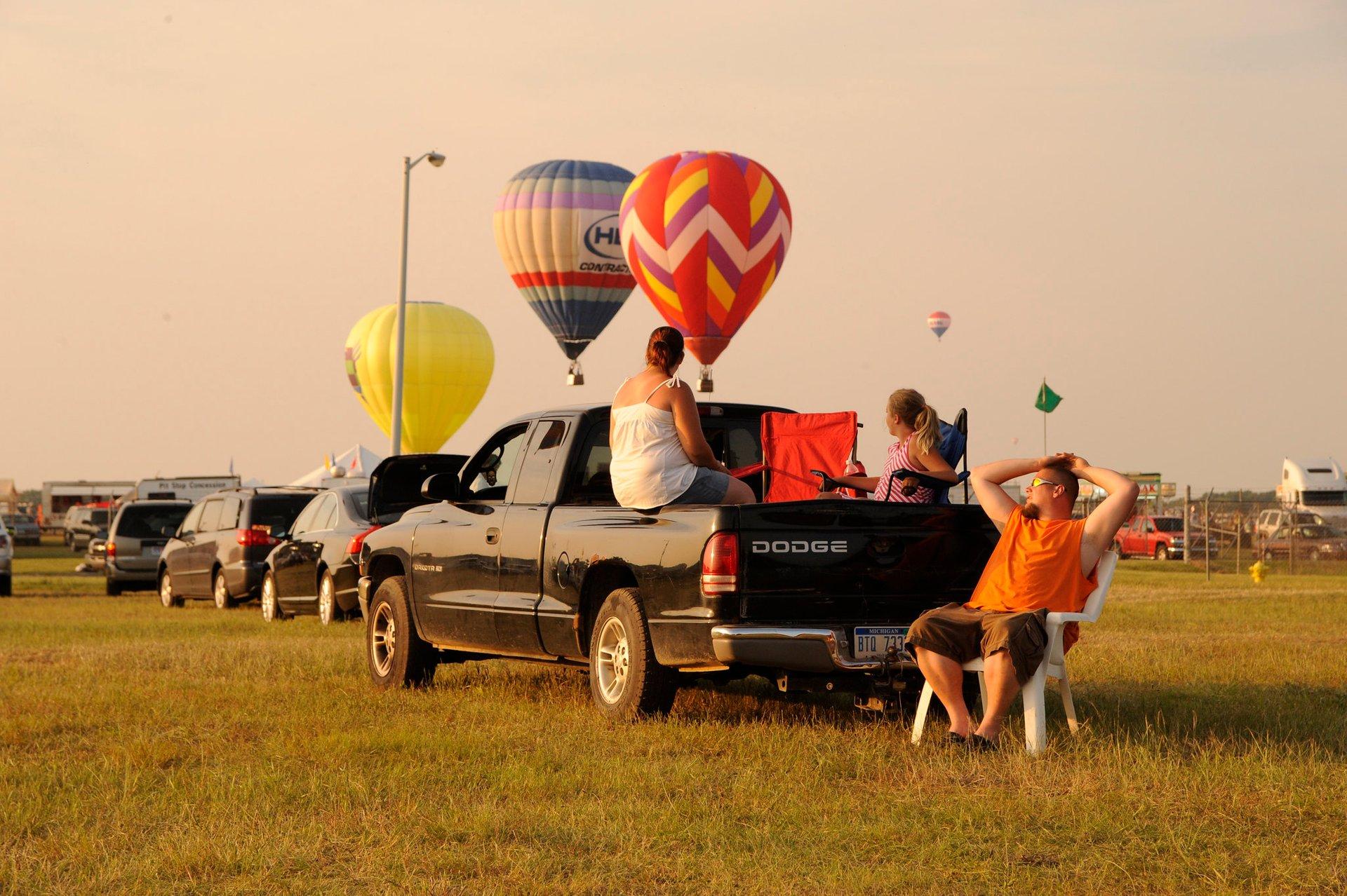 Battle Creek Field of Flight Air Show & Balloon Festival in Midwest 2020 - Best Time