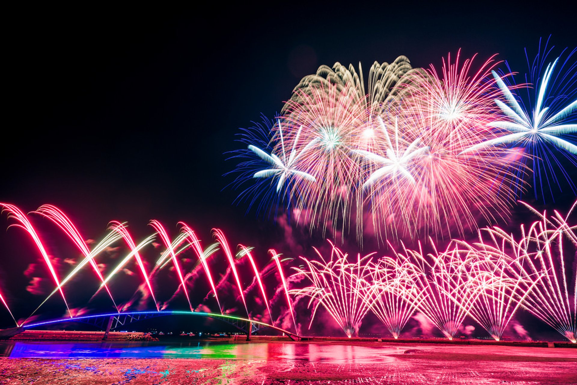 Penghu Fireworks Festival in Taiwan 2019 - Best Time