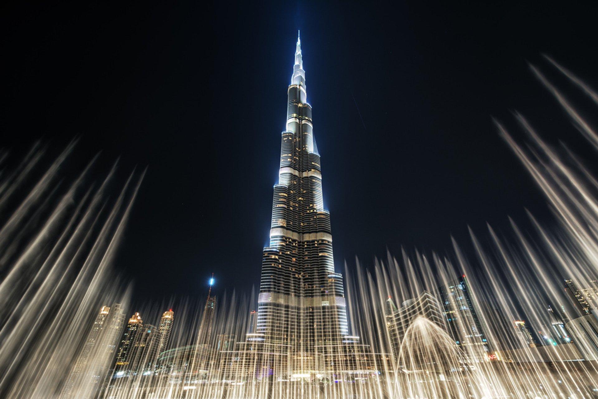 Burj Khalifa in Dubai 2020 - Best Time