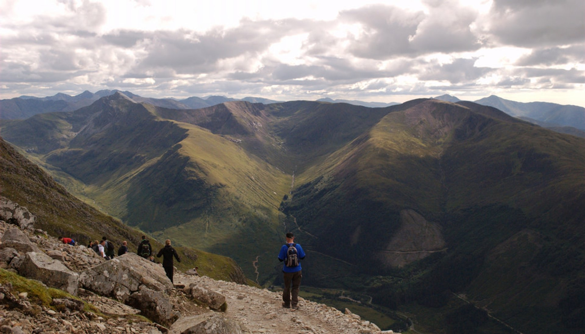 View from Ben Nevis 2020
