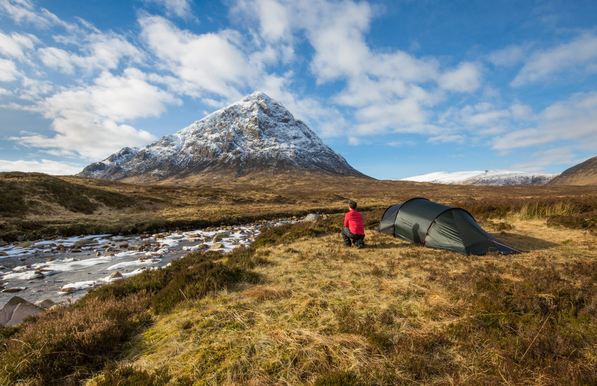 Wild Camping in Glencoe by the River Coupall and Stob Dearg  2020