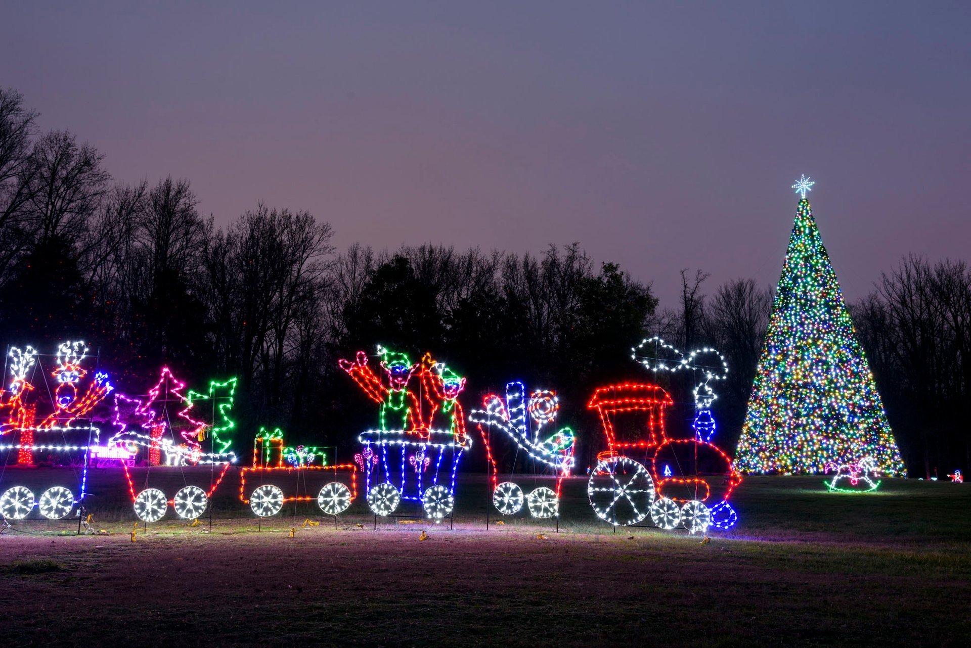 Winter Festival of Lights at Watkins Regional Park 2020