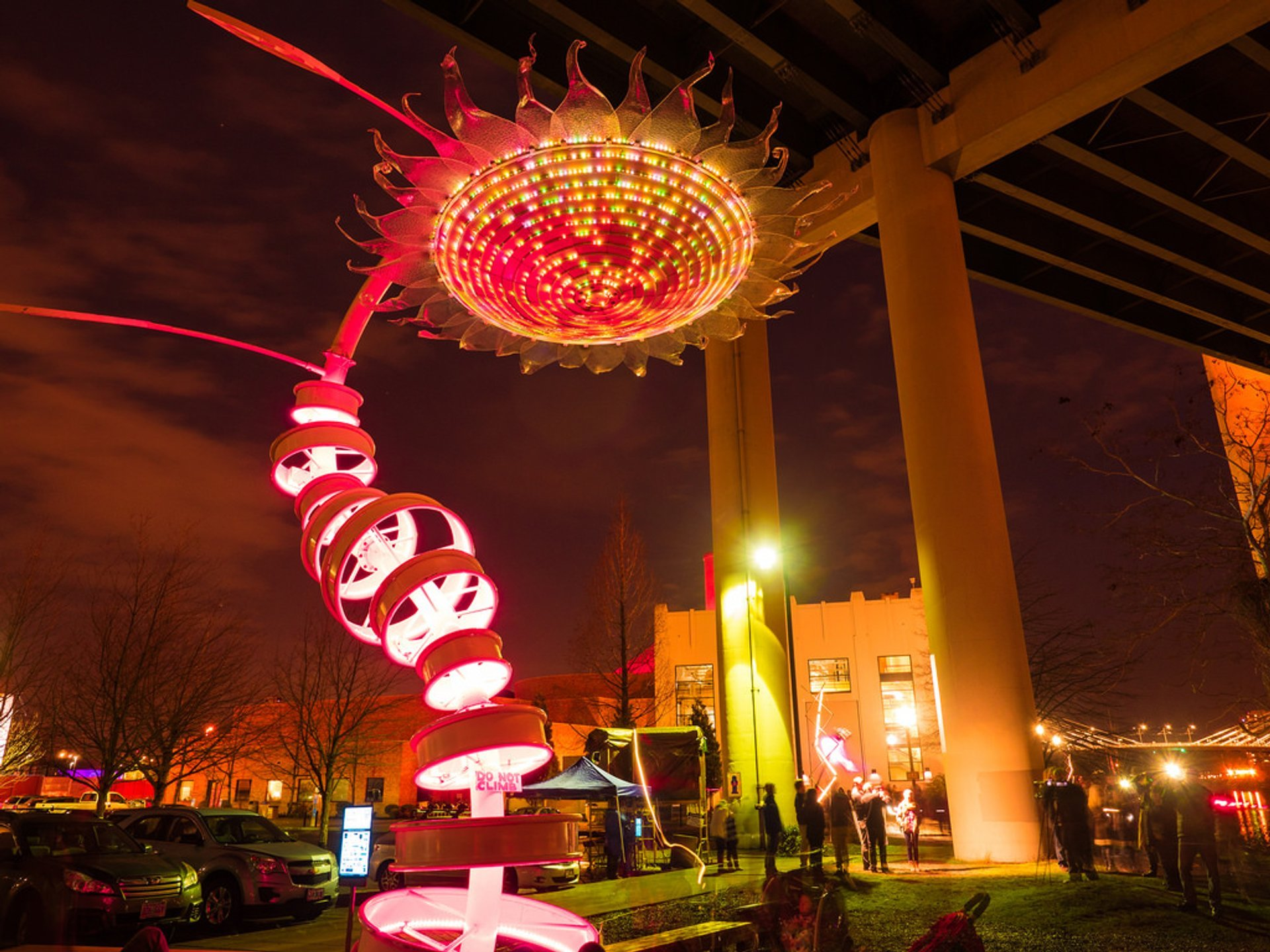 Best time to see Portland Winter Light Festival