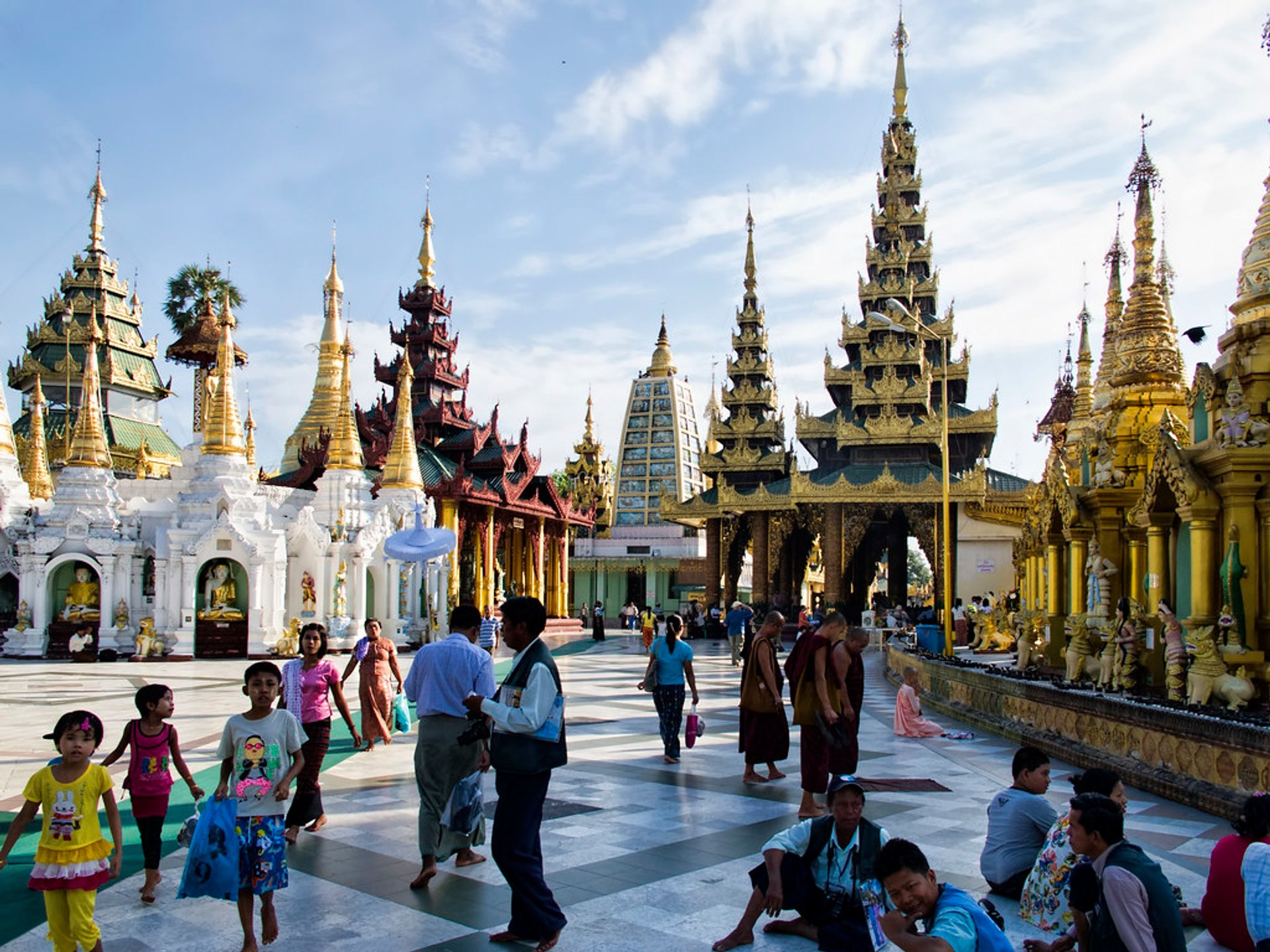 Shwedagon Pagoda 2020