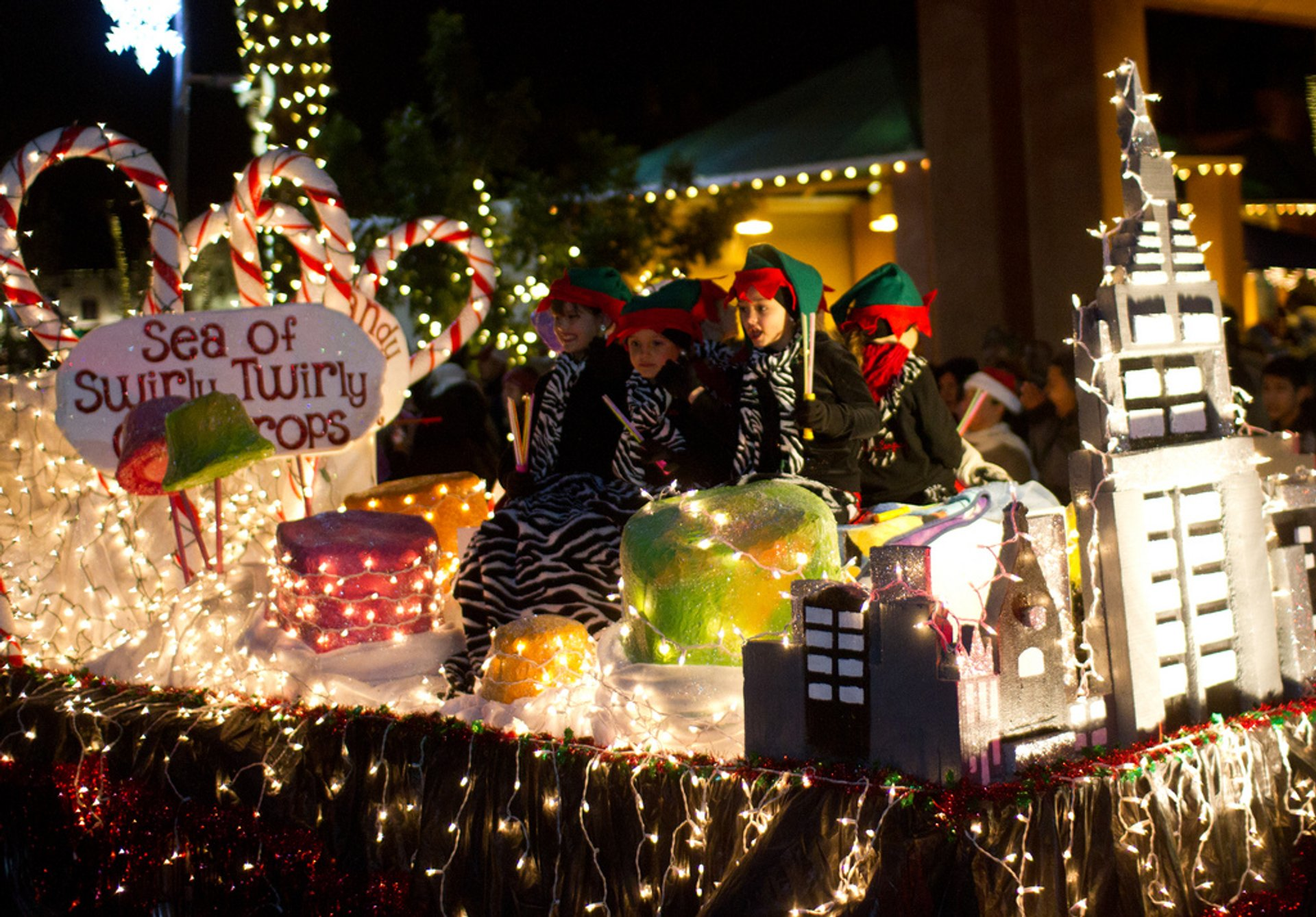 Best time for Chandler Parade of Lights in Arizona 2020