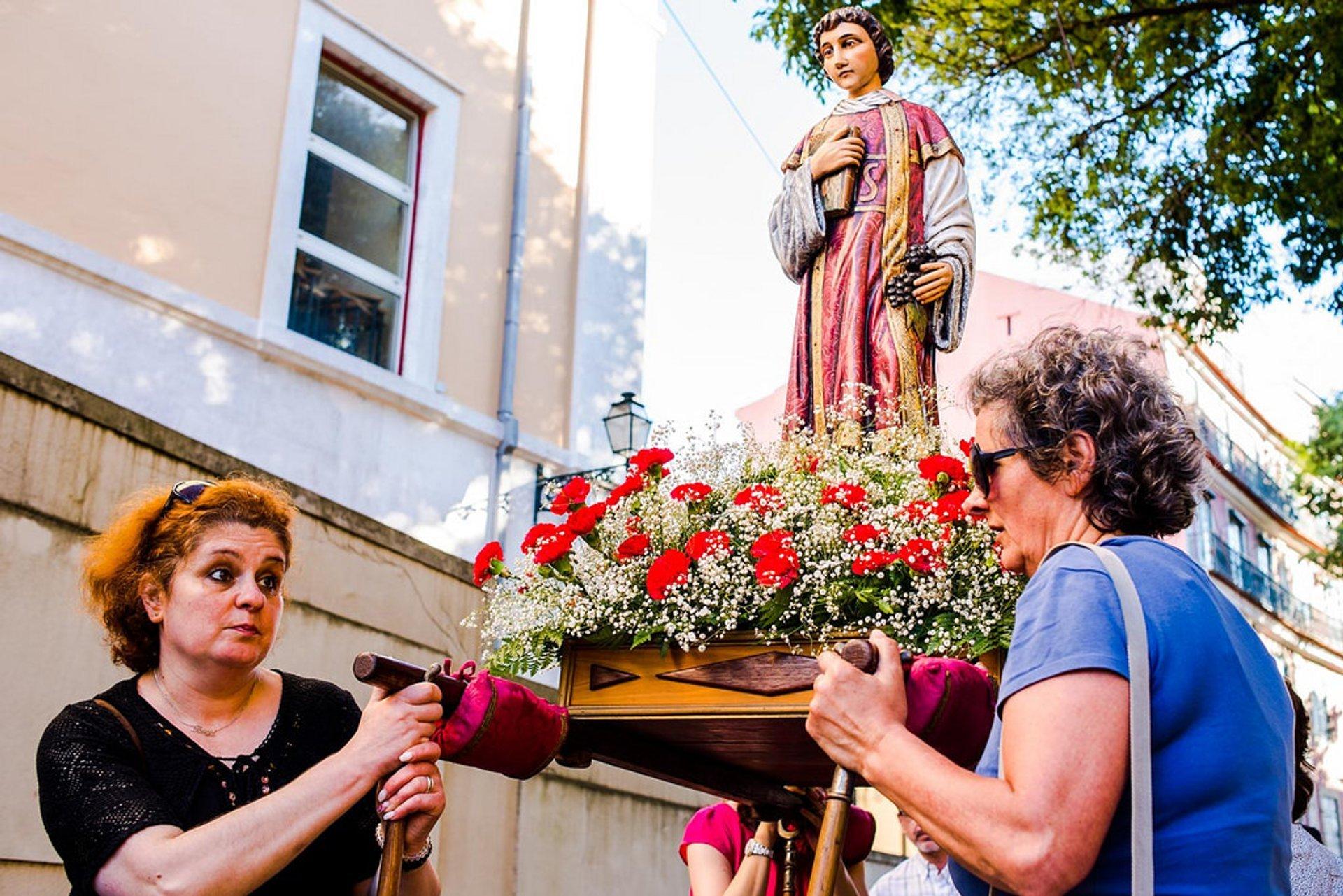 Best time for Festas de Lisboa (Festas dos Santos Populares) in Lisbon 2020