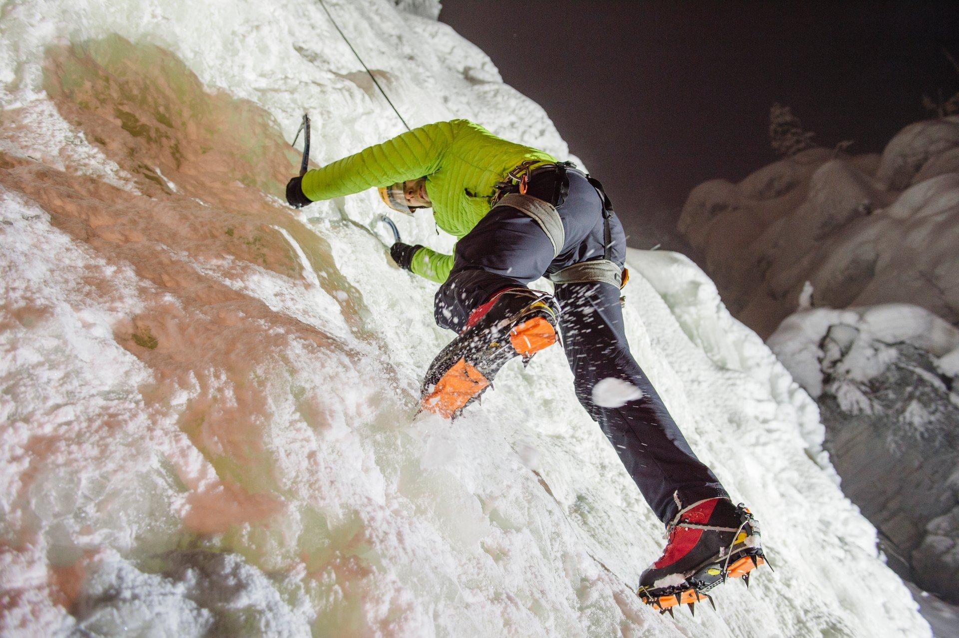 Ice Climbing in Finland - Best Season 2020
