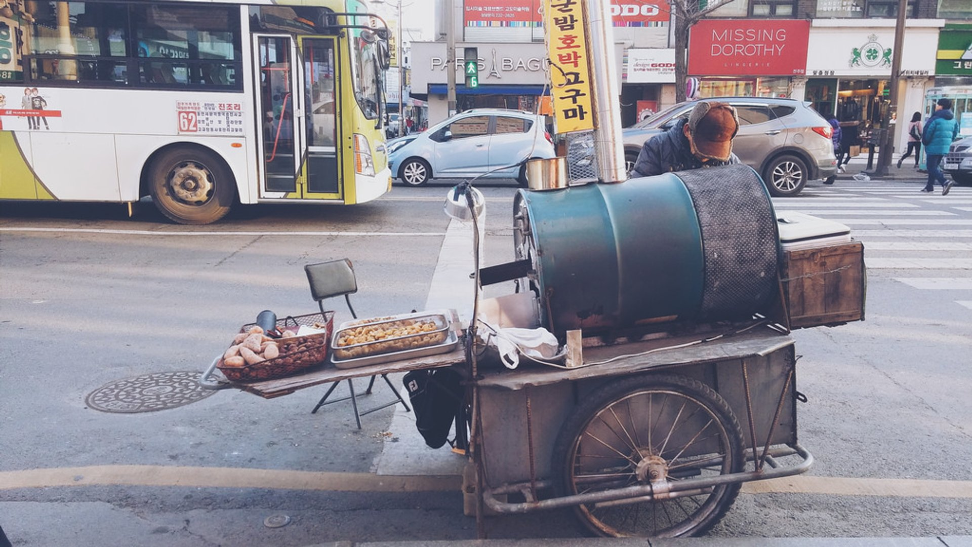 Sweet Potatoes and Chestnuts in South Korea - Best Season 2020