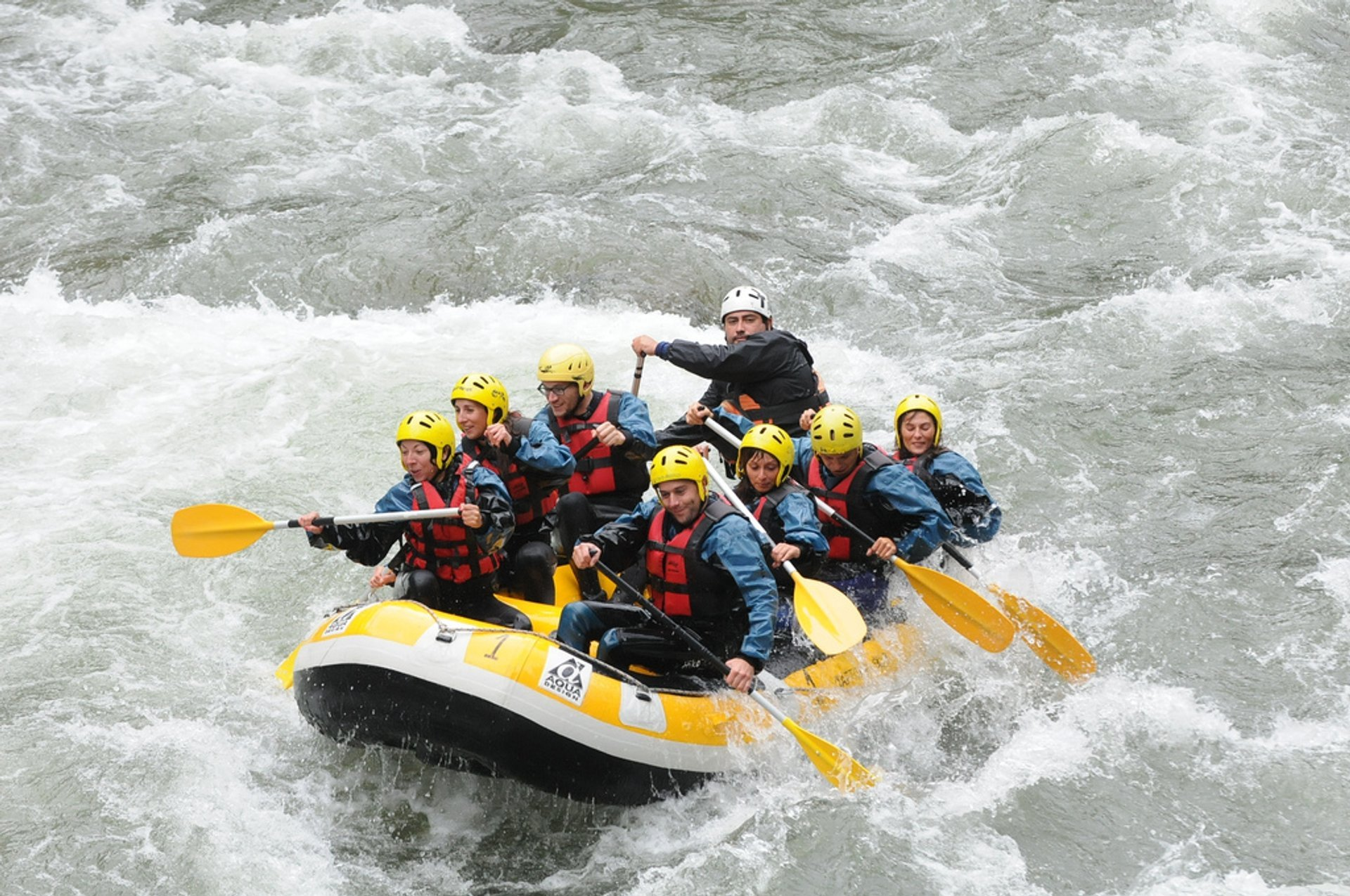 Best time to see White Water Rafting in Spain 2020