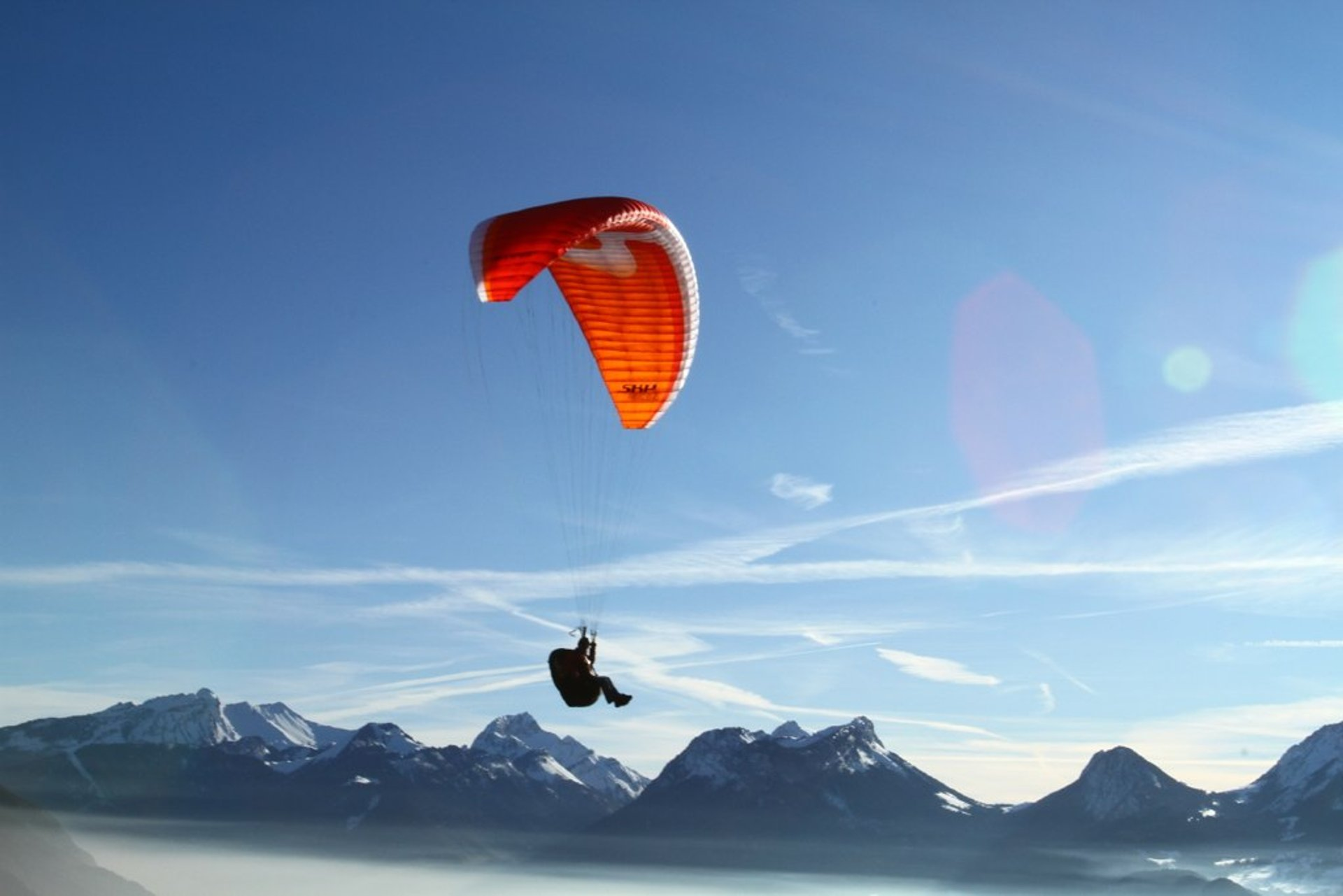 Paragliding Winter Season in Georgia - Best Season 2019
