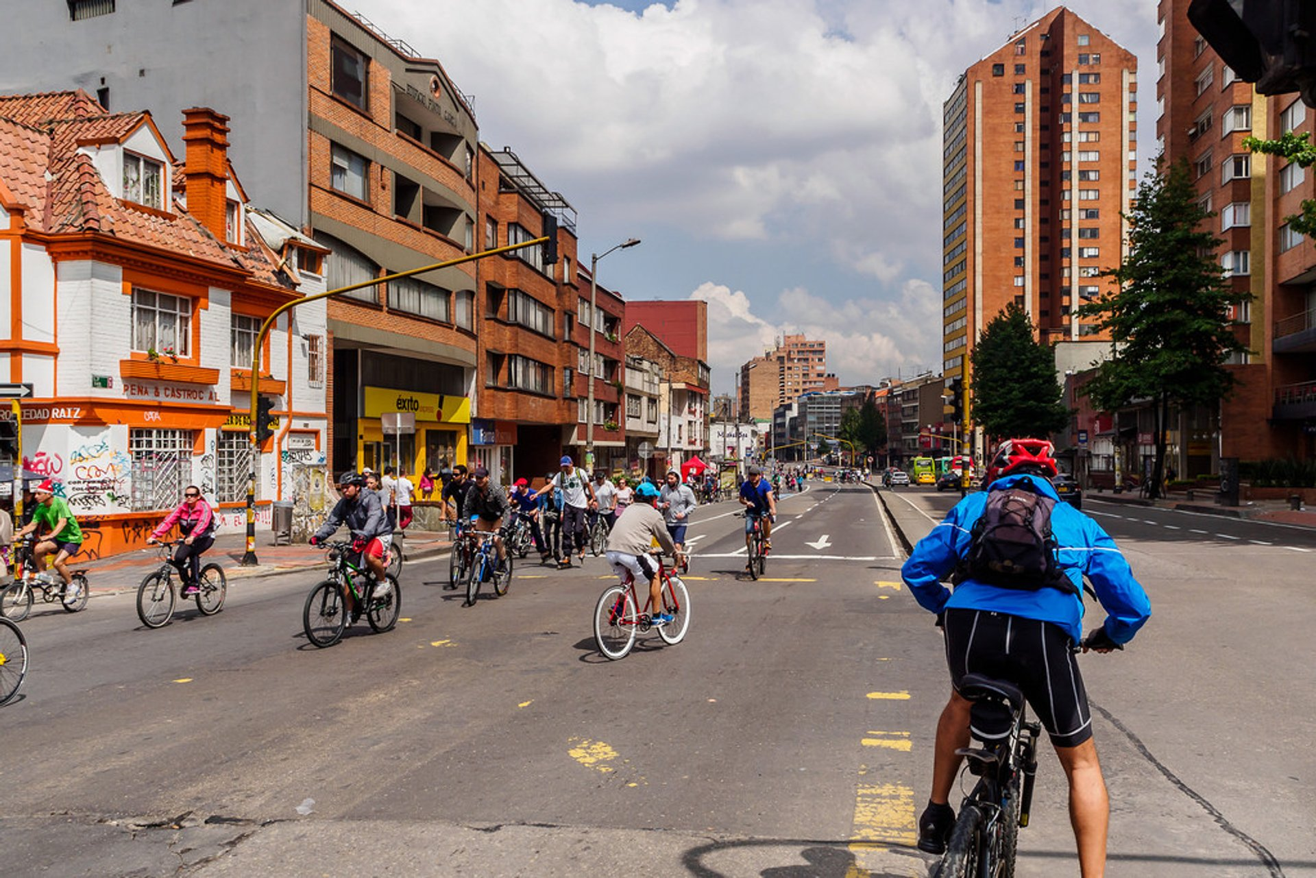 Best time for Sunday Ciclovía in Bogota in Colombia 2020