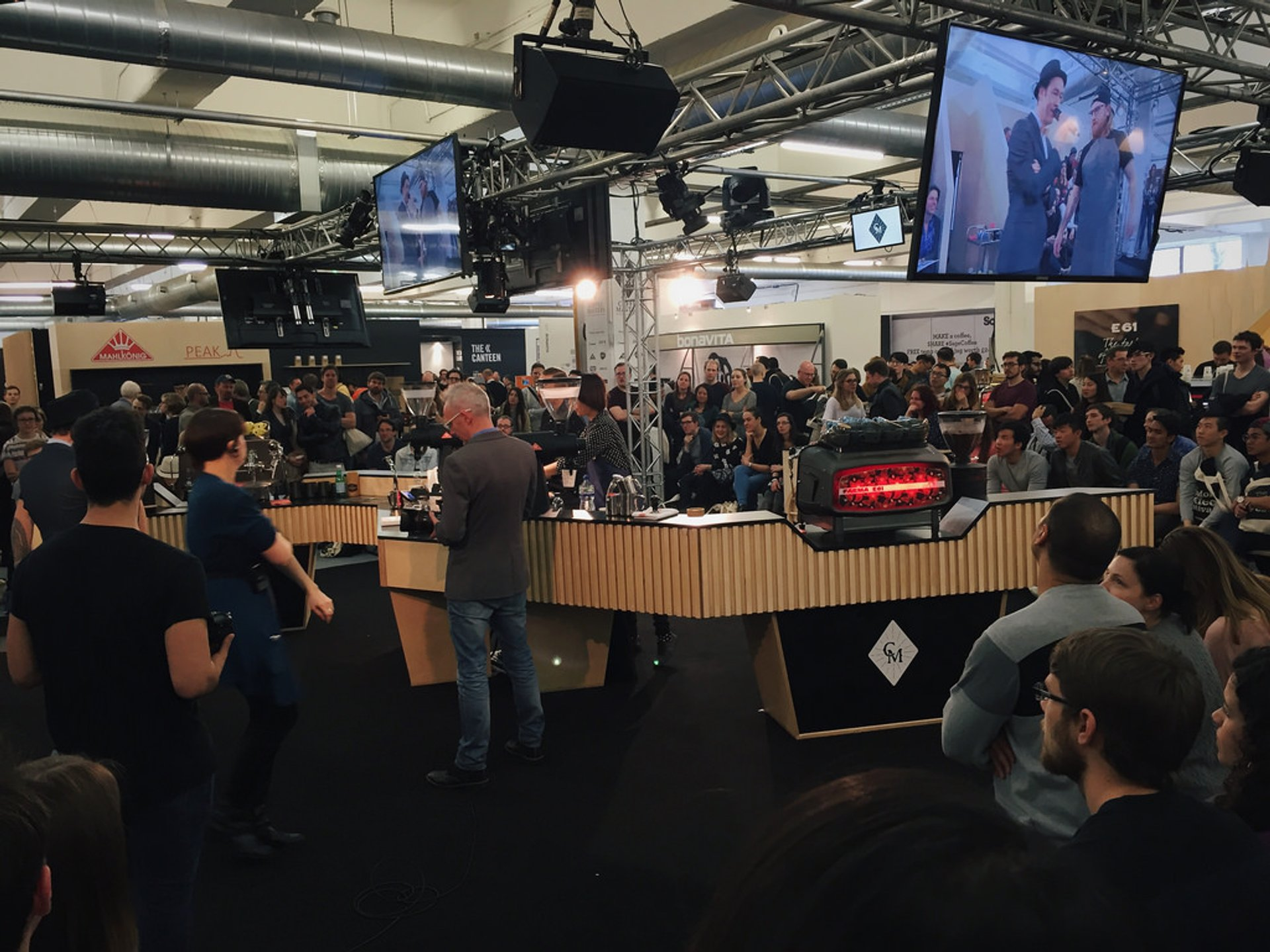 Best time to see London Coffee Festival in London 2020
