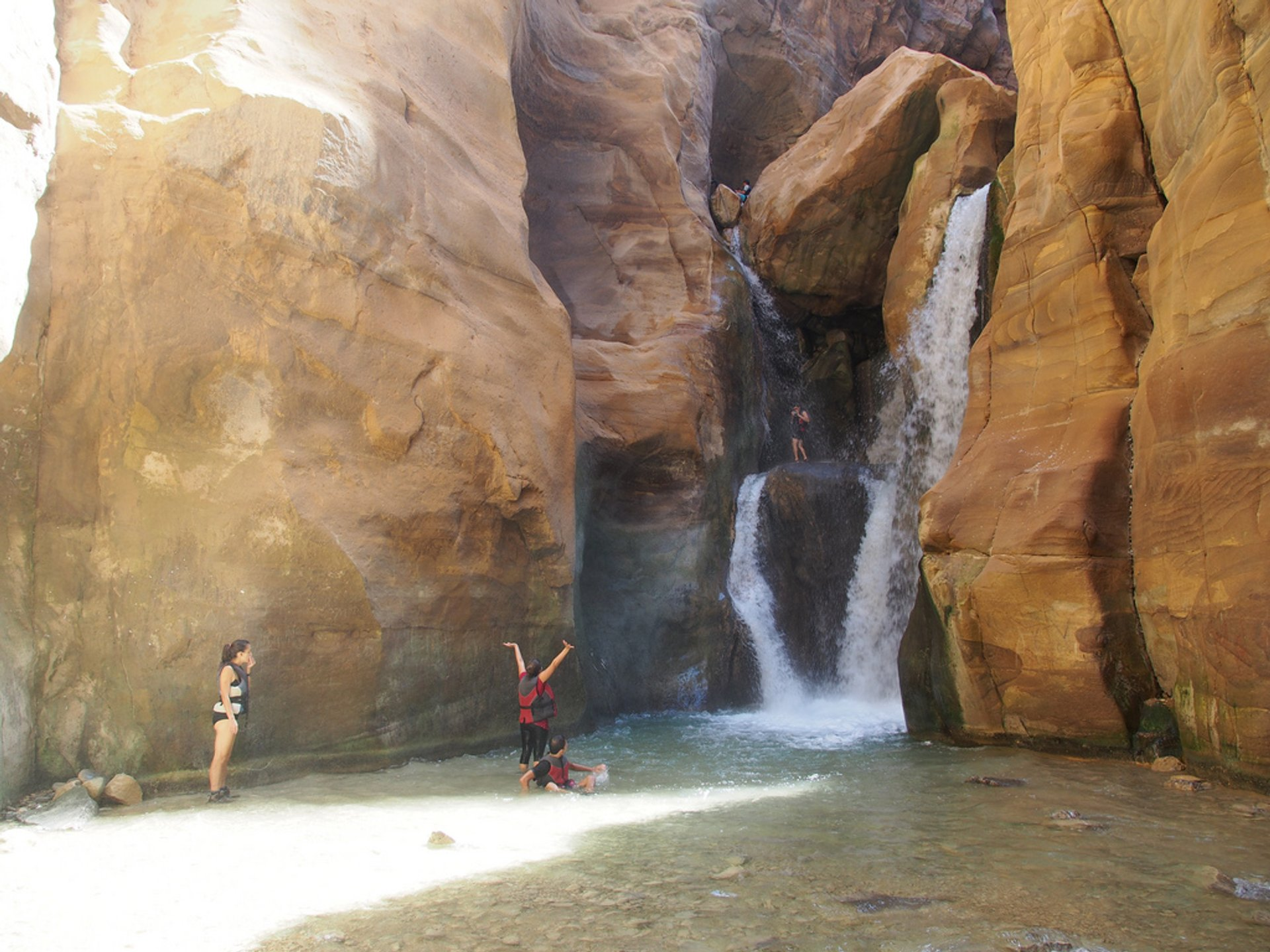 Canyoning in Jordan - Best Season 2020