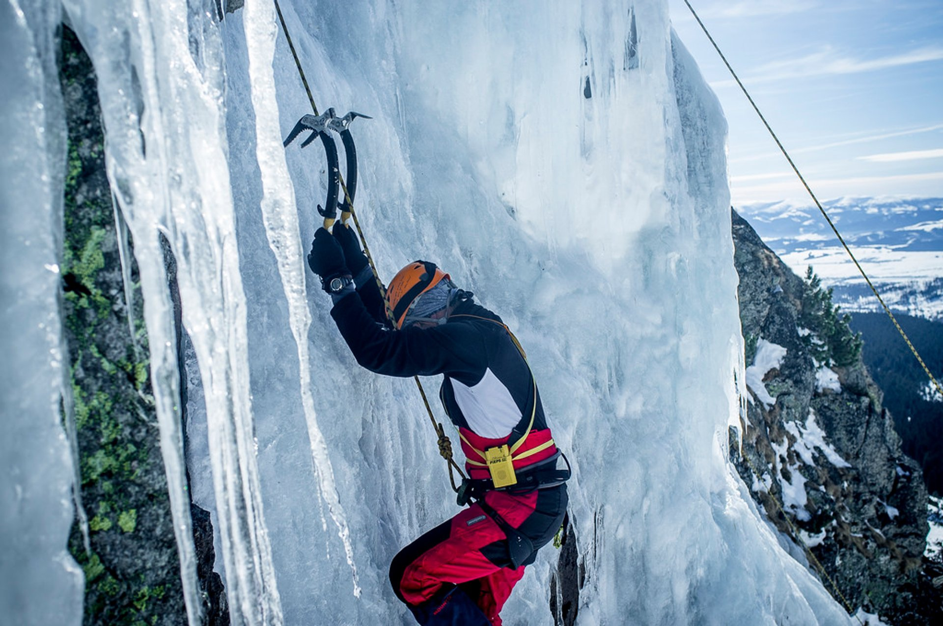 Ice climbing in the Tatra Mountains 2020