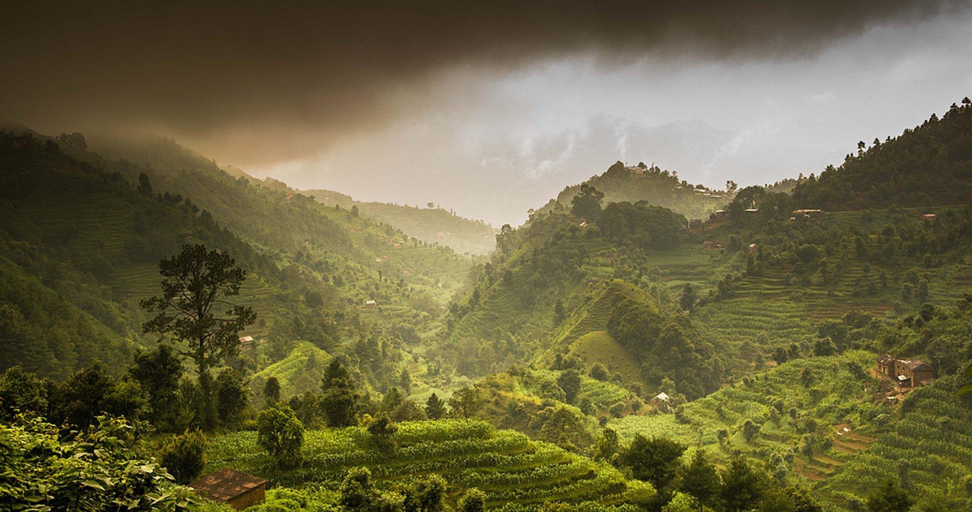 Monsoon Season in Nepal 2019 - Best Time