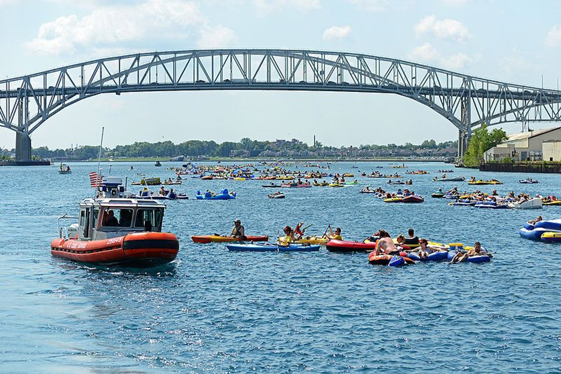 Best time for Port Huron Float Down in Midwest 2020