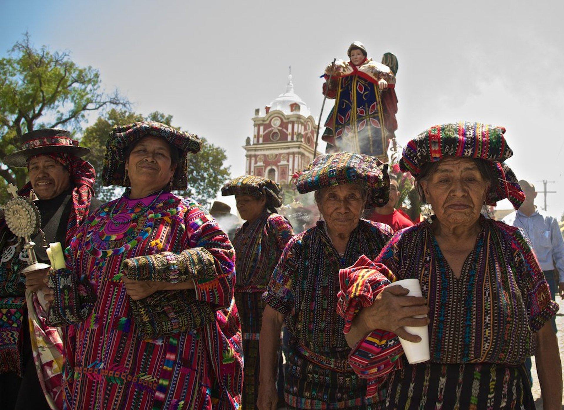 Best time for Día de la Asunción in Guatemala 2019