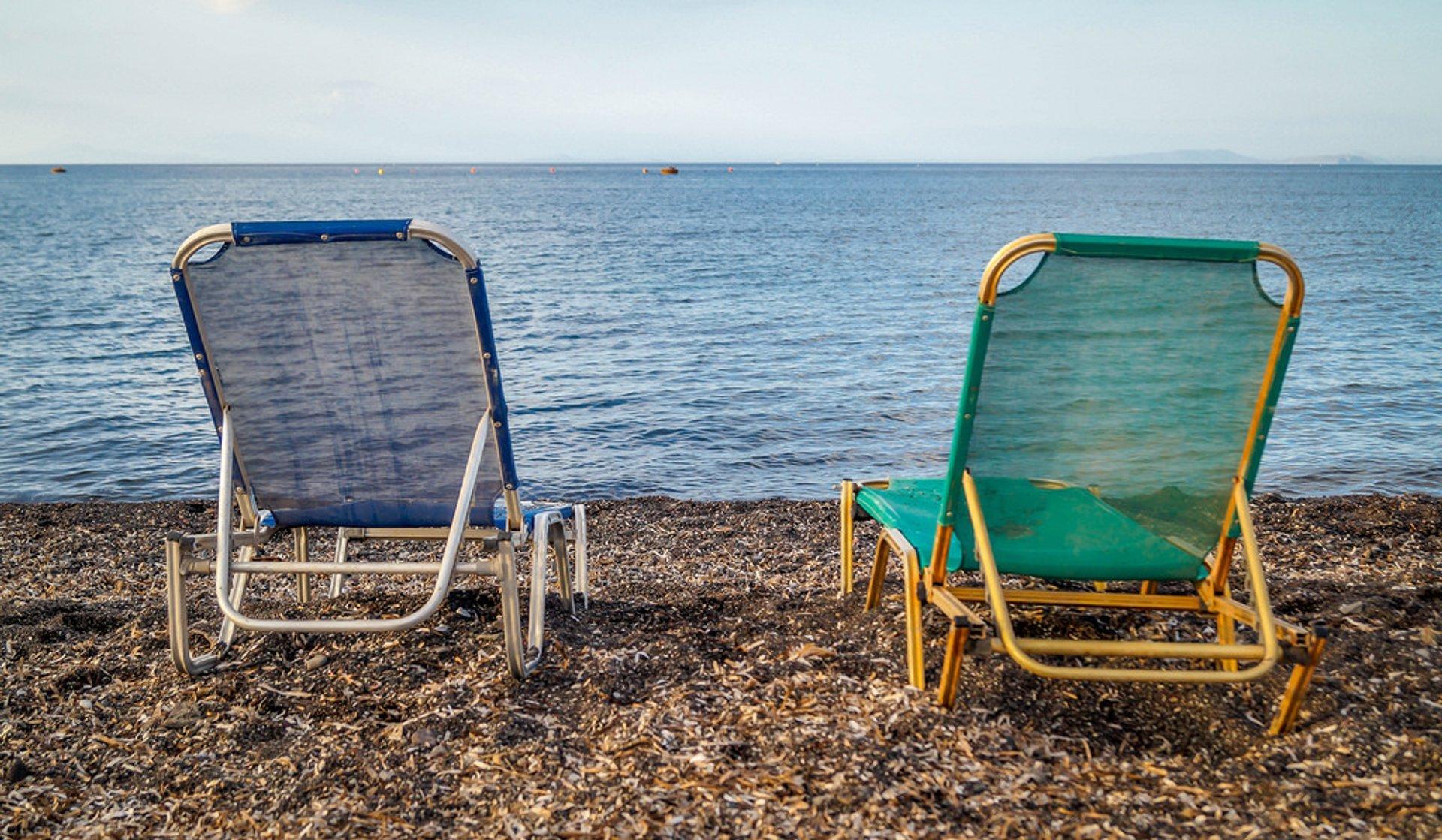 Beach Season in Santorini 2020 - Best Time