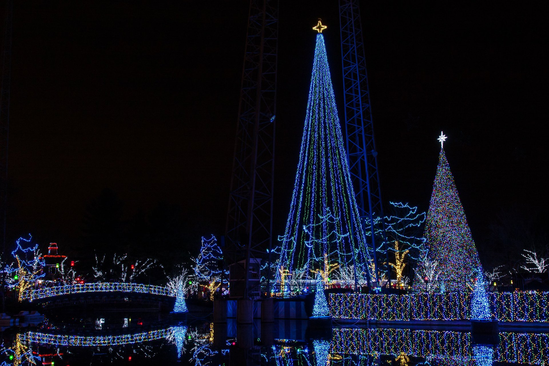Kennywood Holiday Lights, West Mifflin 2020