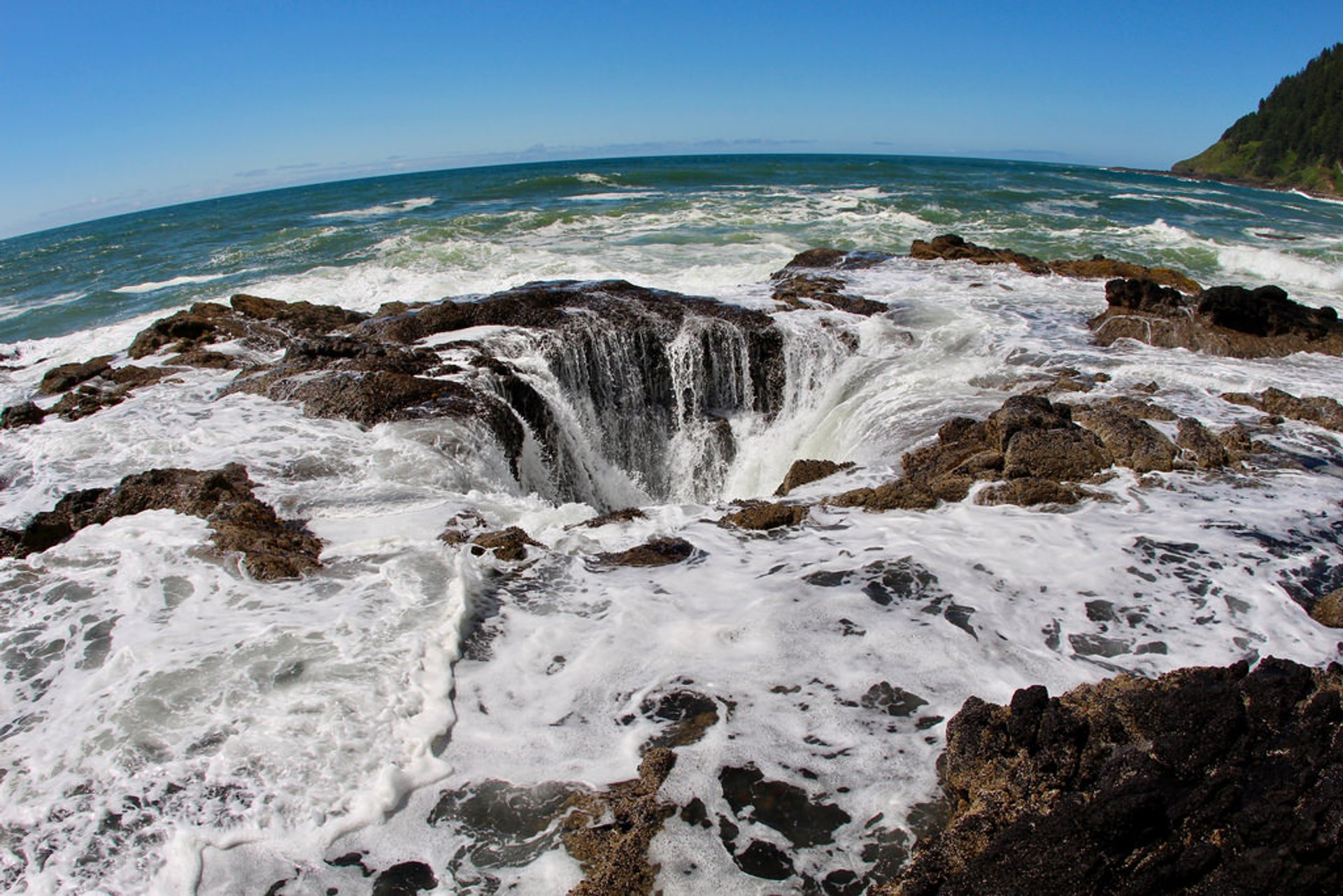 Thor's Well in Portland 2019 - Best Time