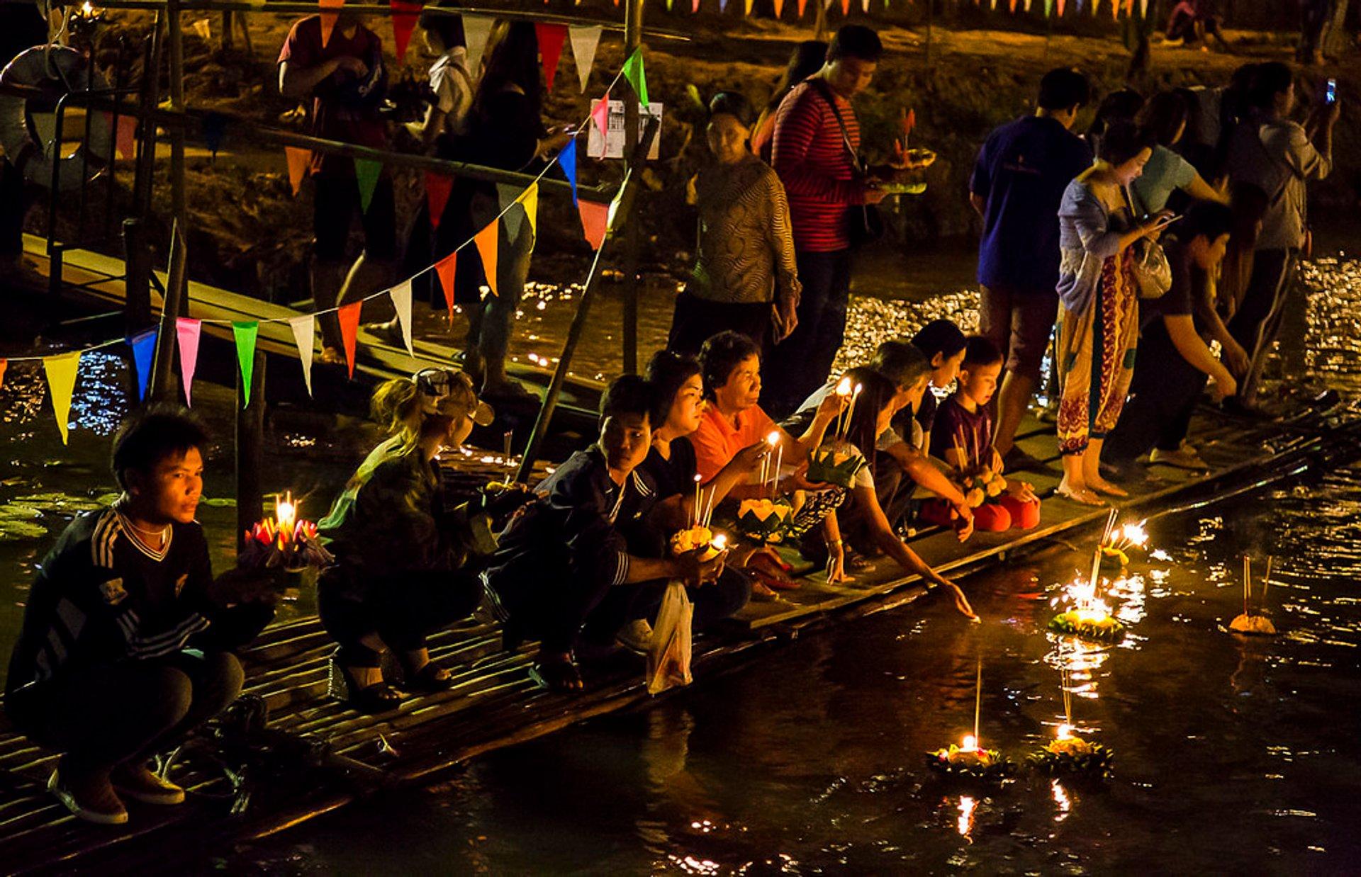 Loi Krathong celebrations in Chiang Mai 2020