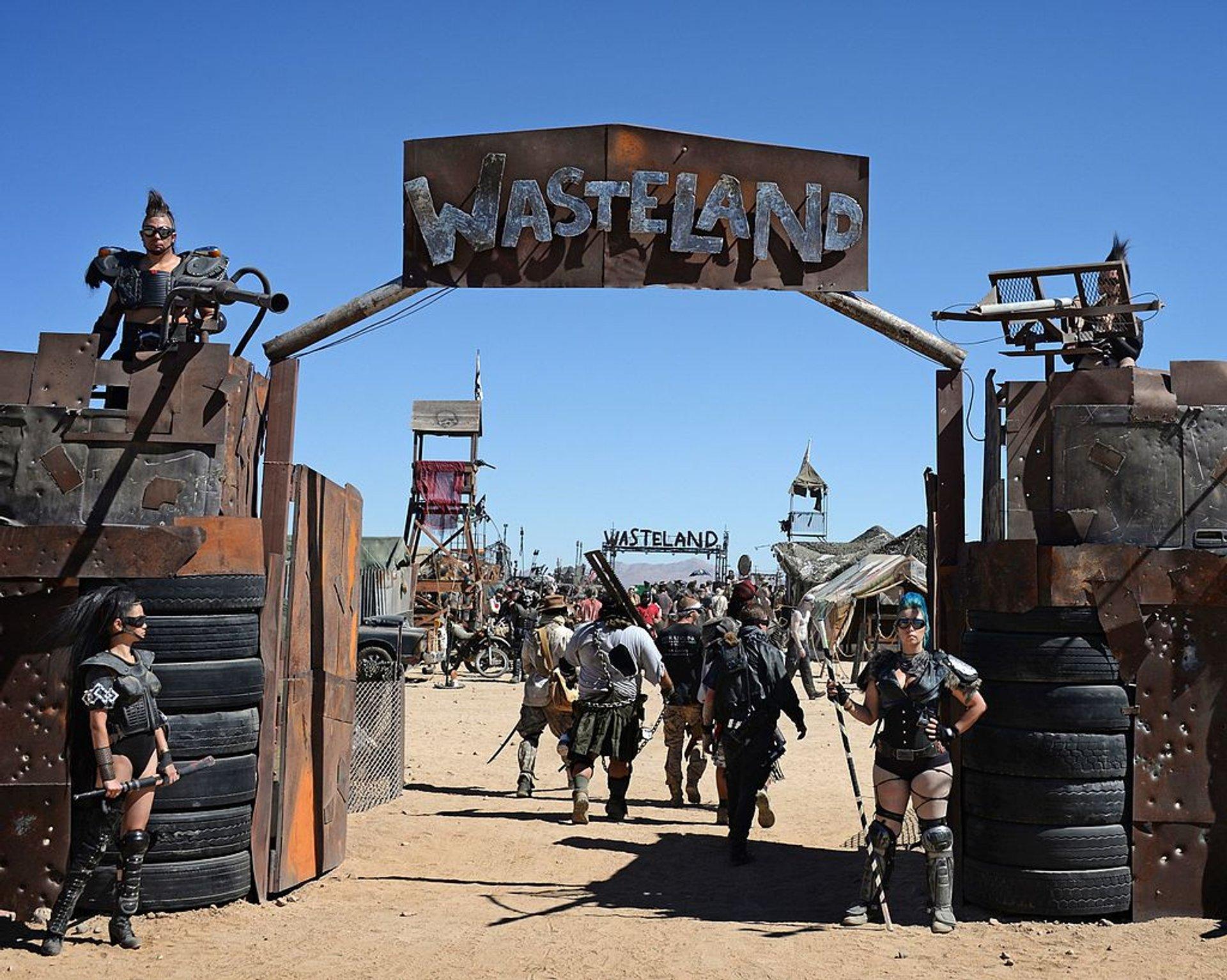 Wasteland Weekend in California 2019 - Best Time