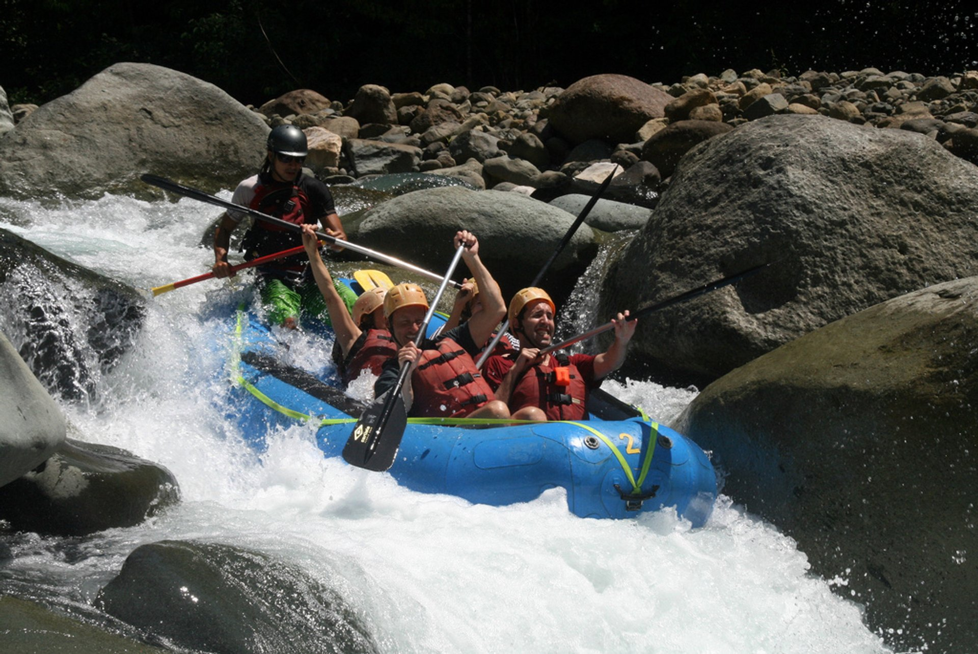 Best time for Rafting in Costa Rica 2020