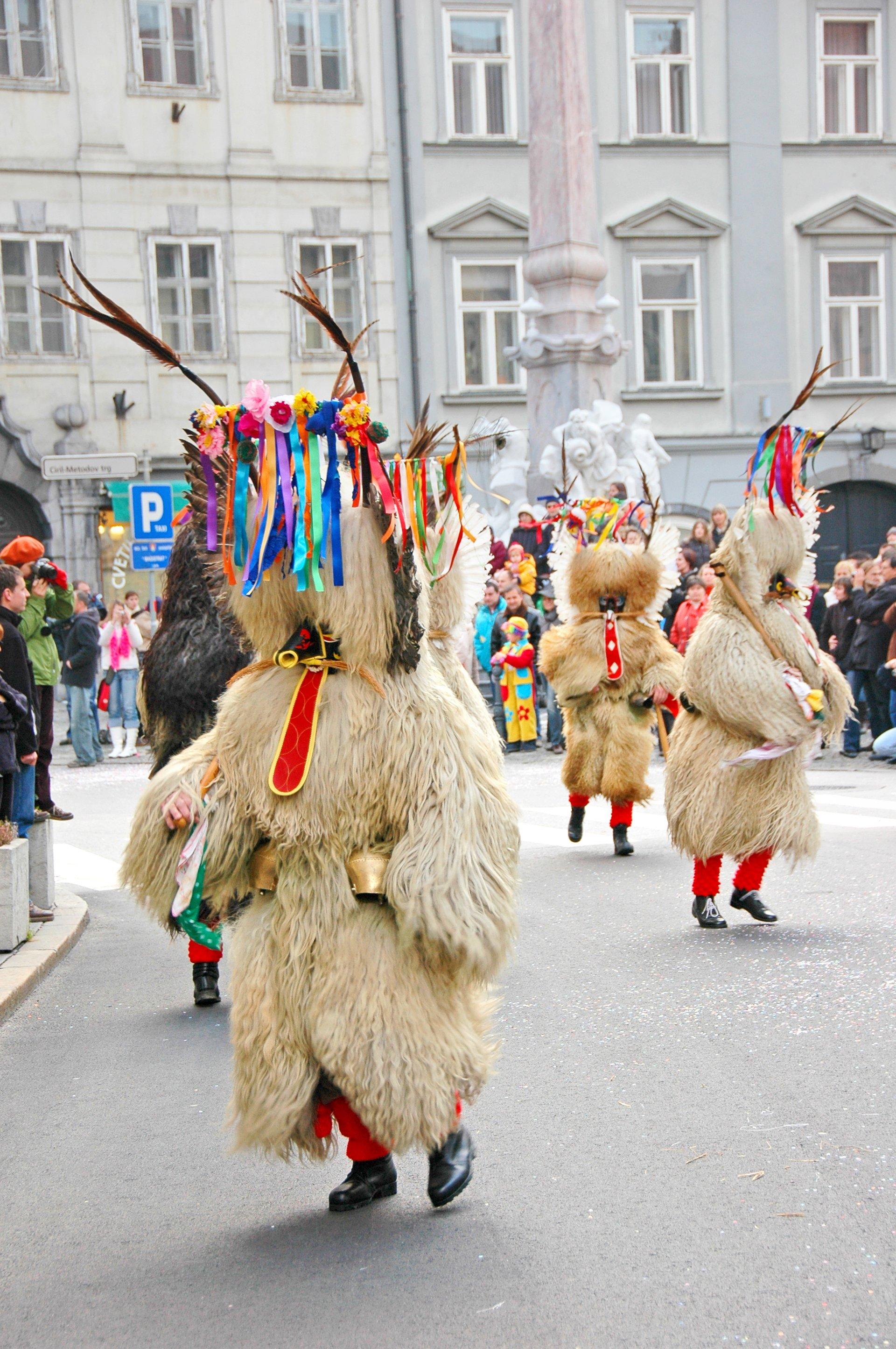 Best time for Kurentovanje Сarnival in Ptuj in Slovenia 2020