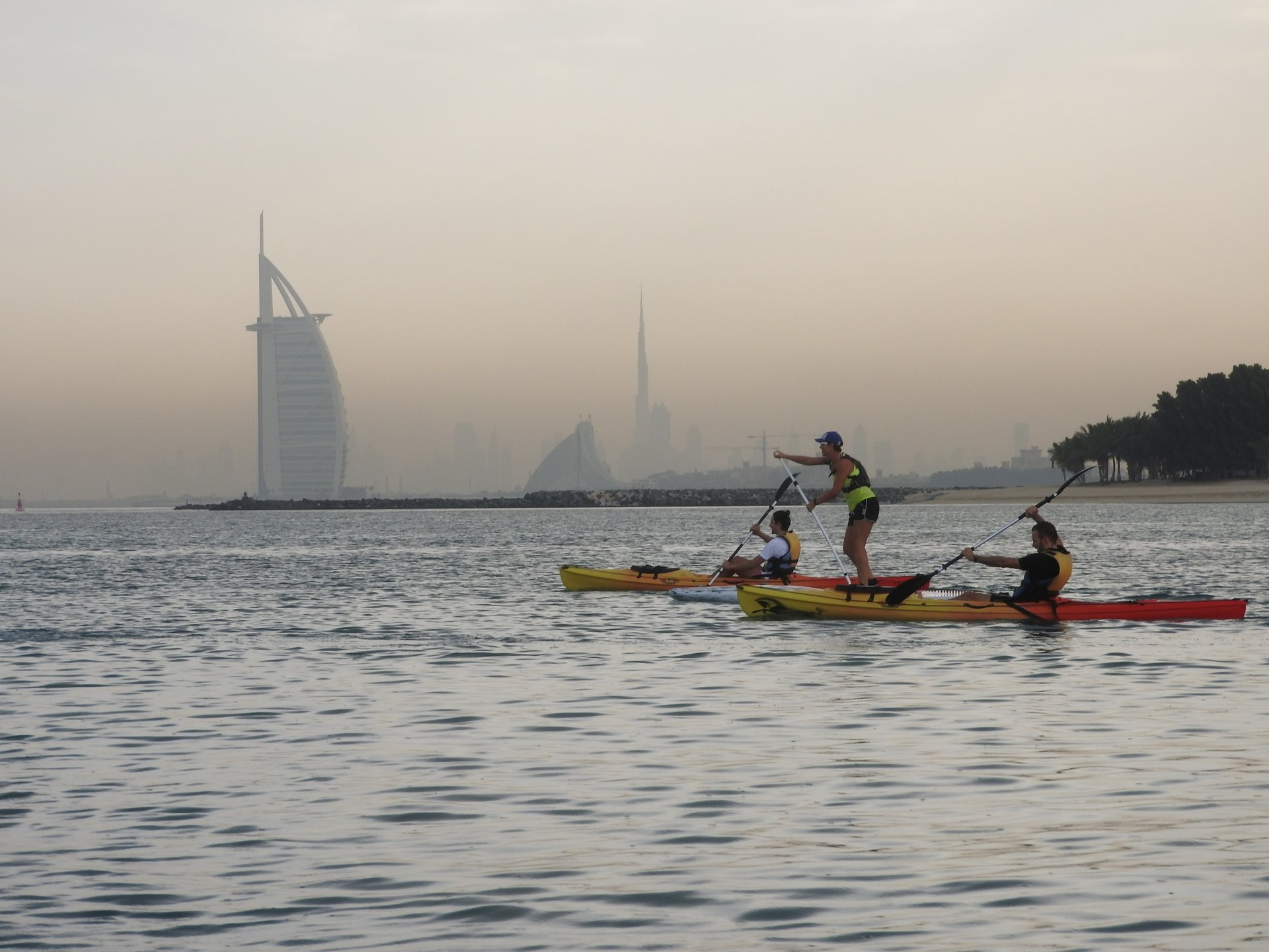 Kayaking and Canoeing in Dubai - Best Season 2019