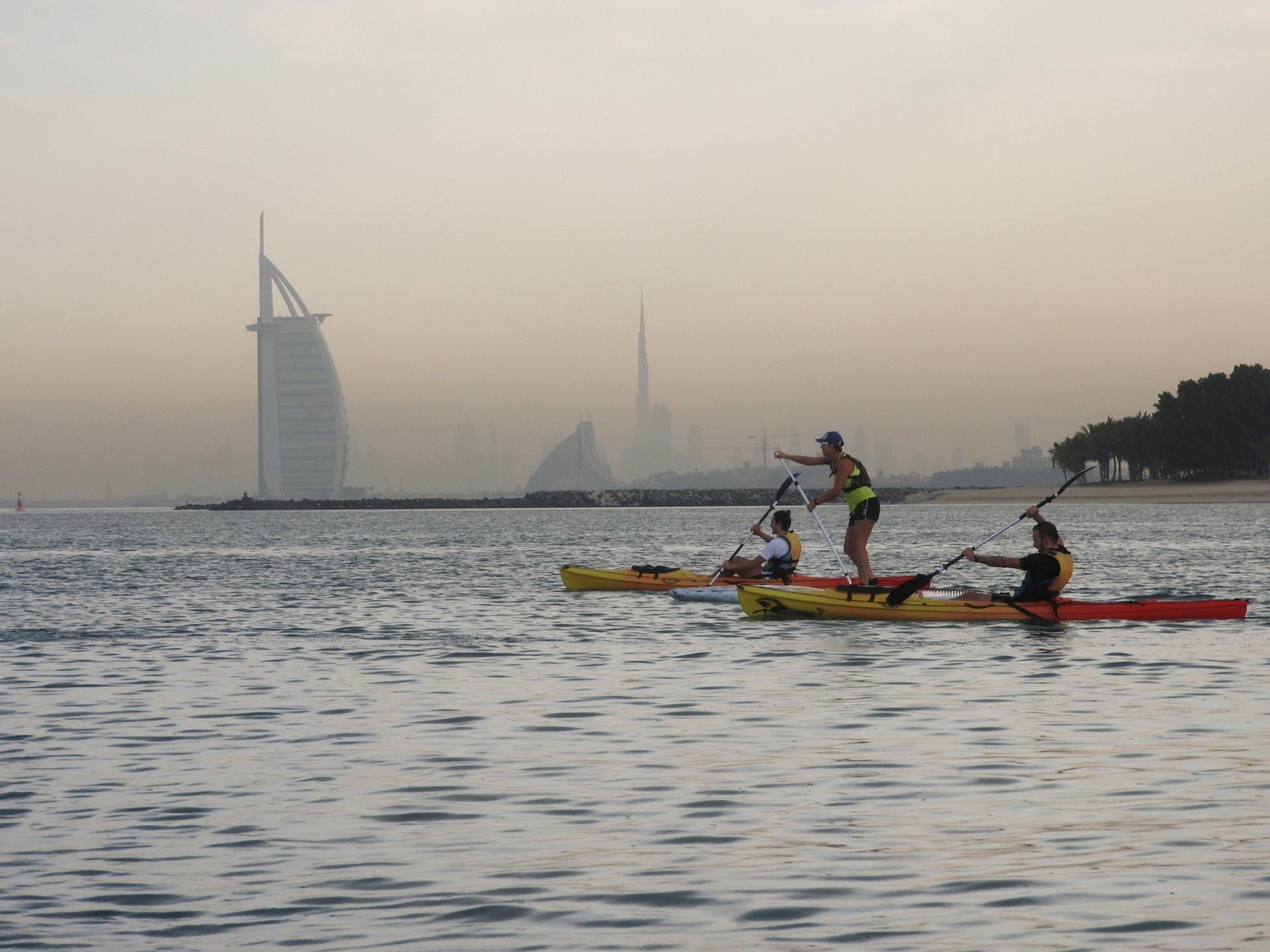 Kayaking and Canoeing in Dubai - Best Season 2020