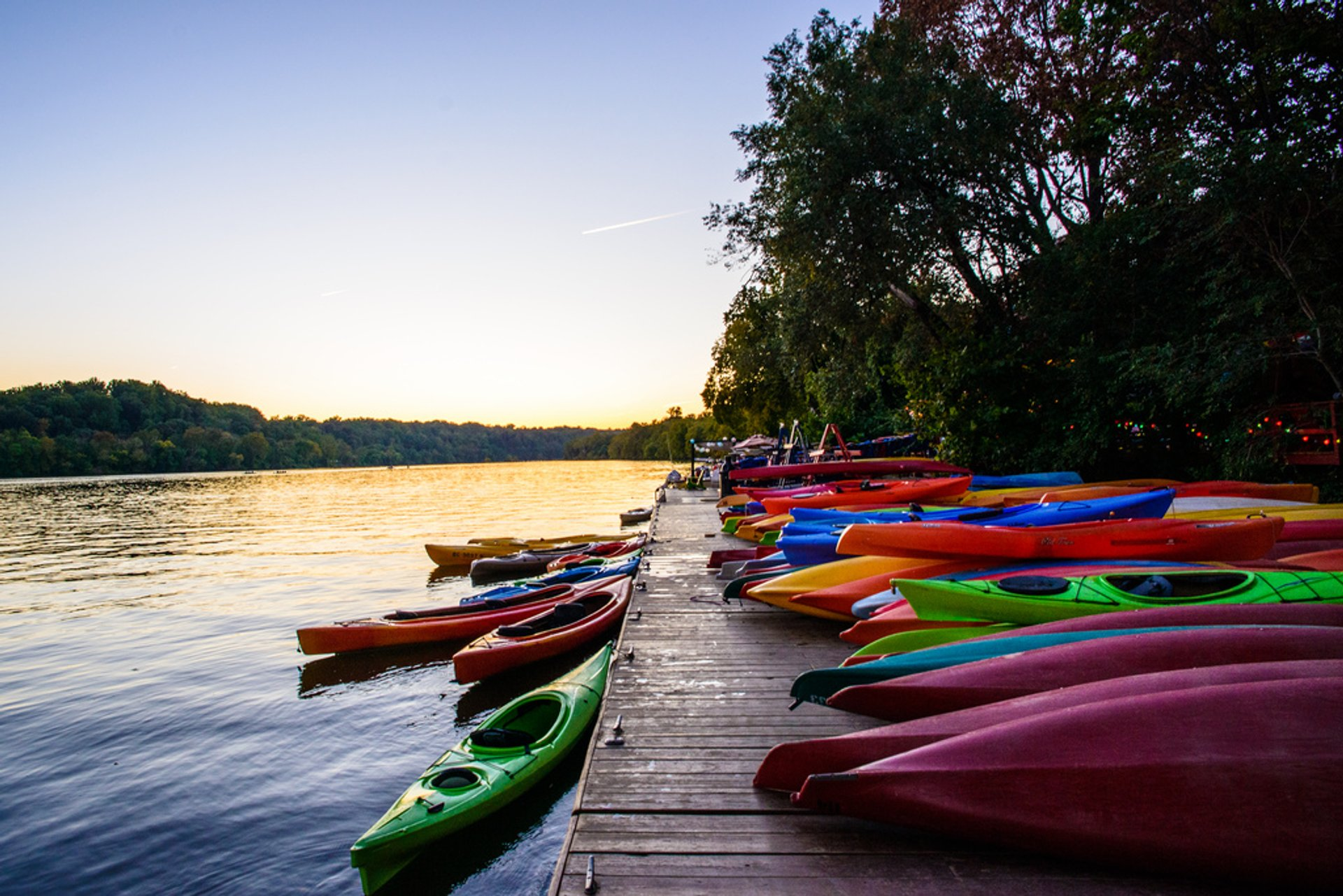 Best time to see Kayaking, Paddling, and Canoeing on the Potomac in Washington, D.C. 2020