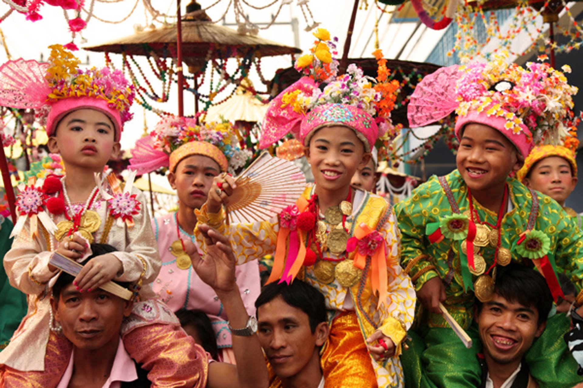 Poy Sang Long Festival or Festival of the Crystal Sons in Thailand 2020 - Best Time