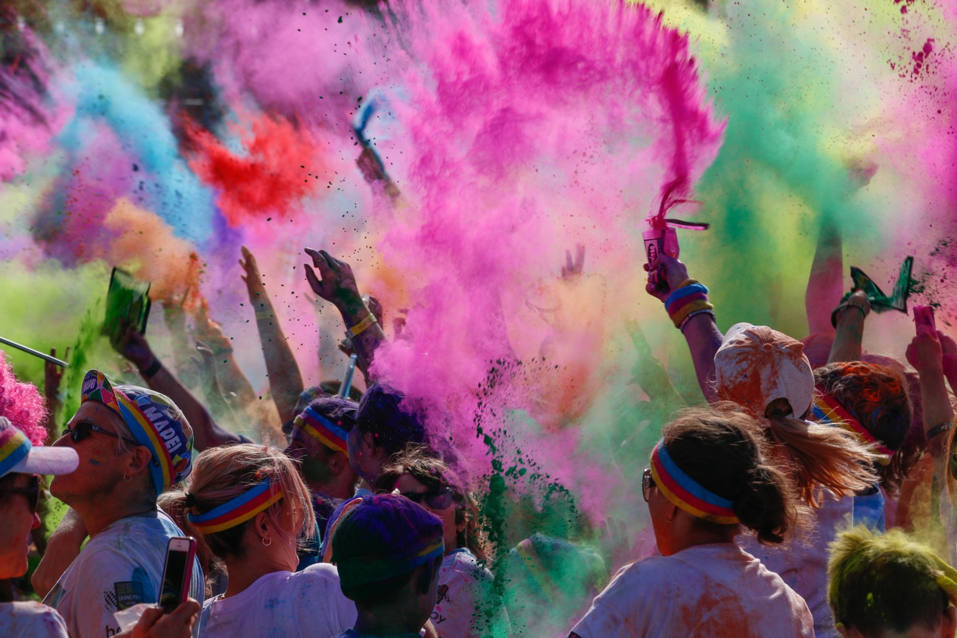 Best time to see The Color Run in Melbourne 2019