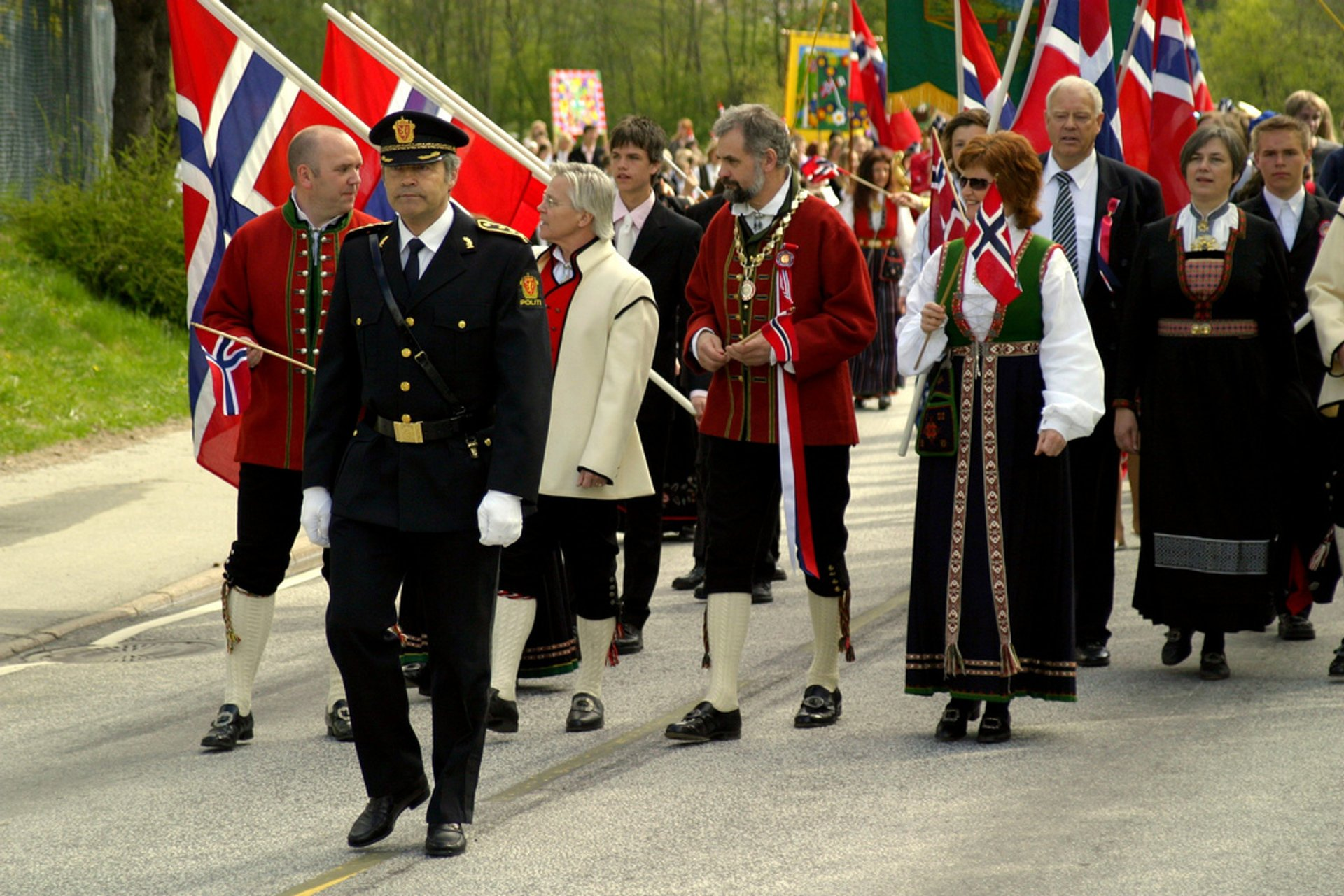 Best time to see Norway's National Day in Norway 2019