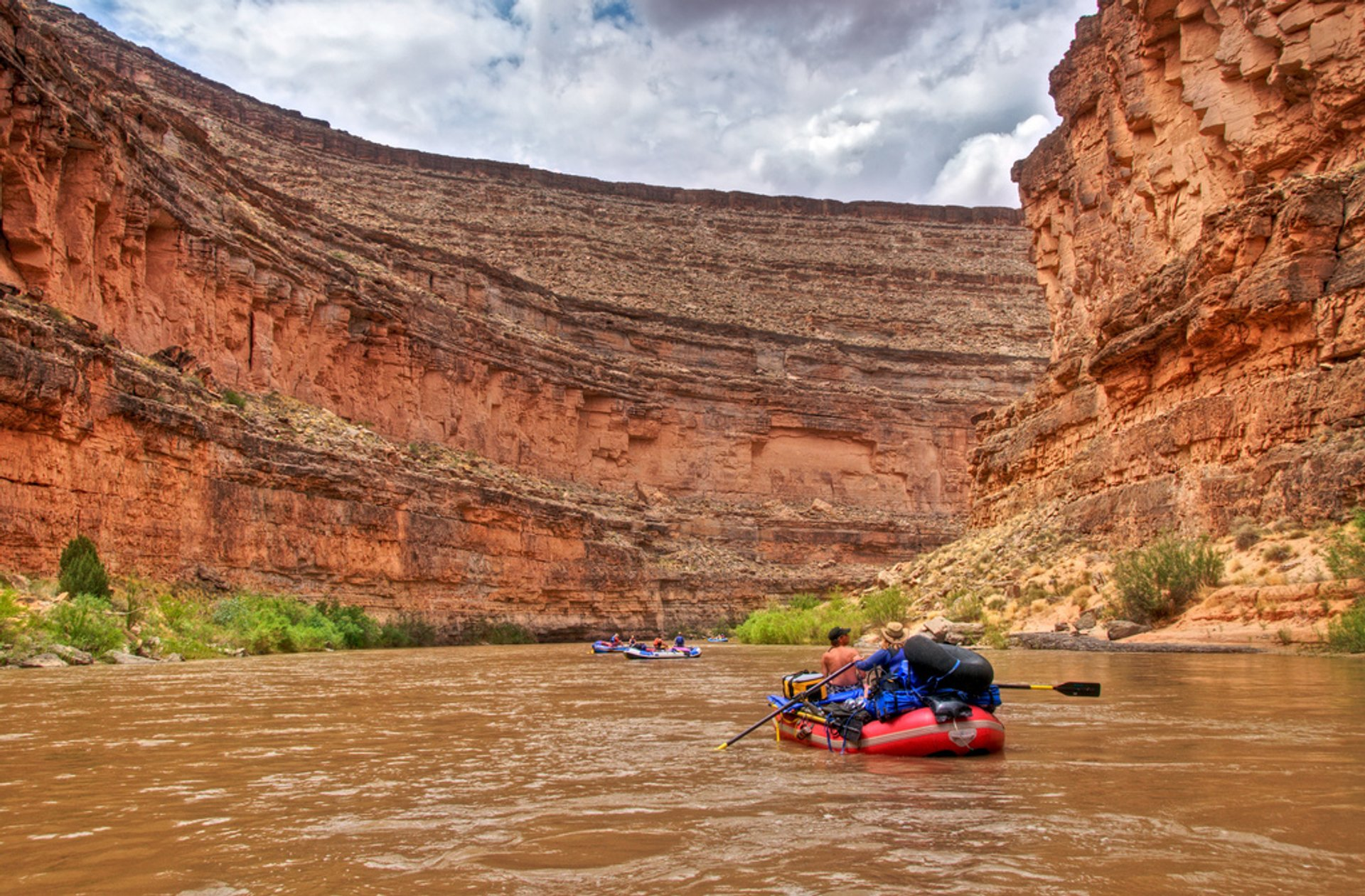 Rafting Season in Utah - Best Season 2019
