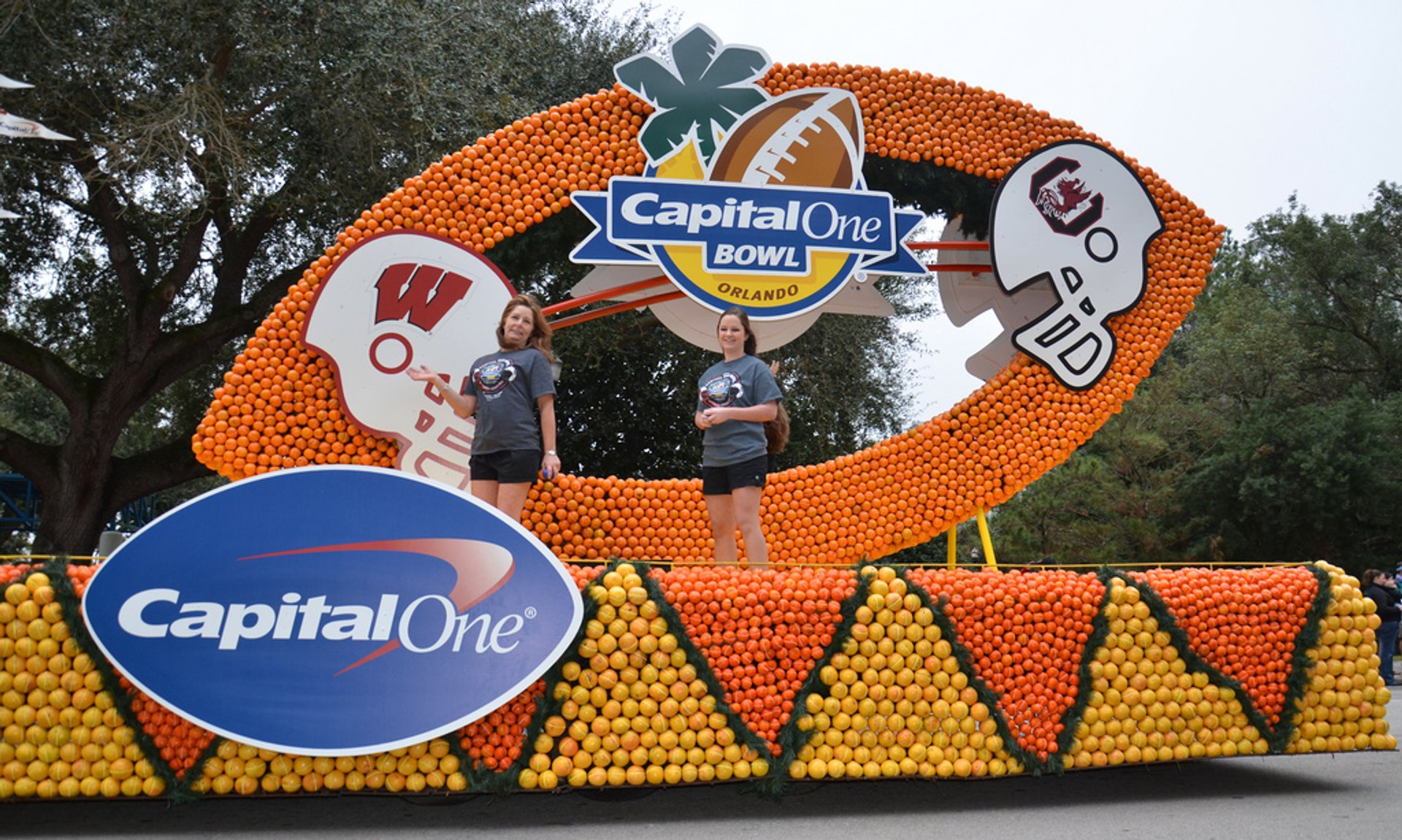 Best time to see Florida Citrus Parade in Florida 2020