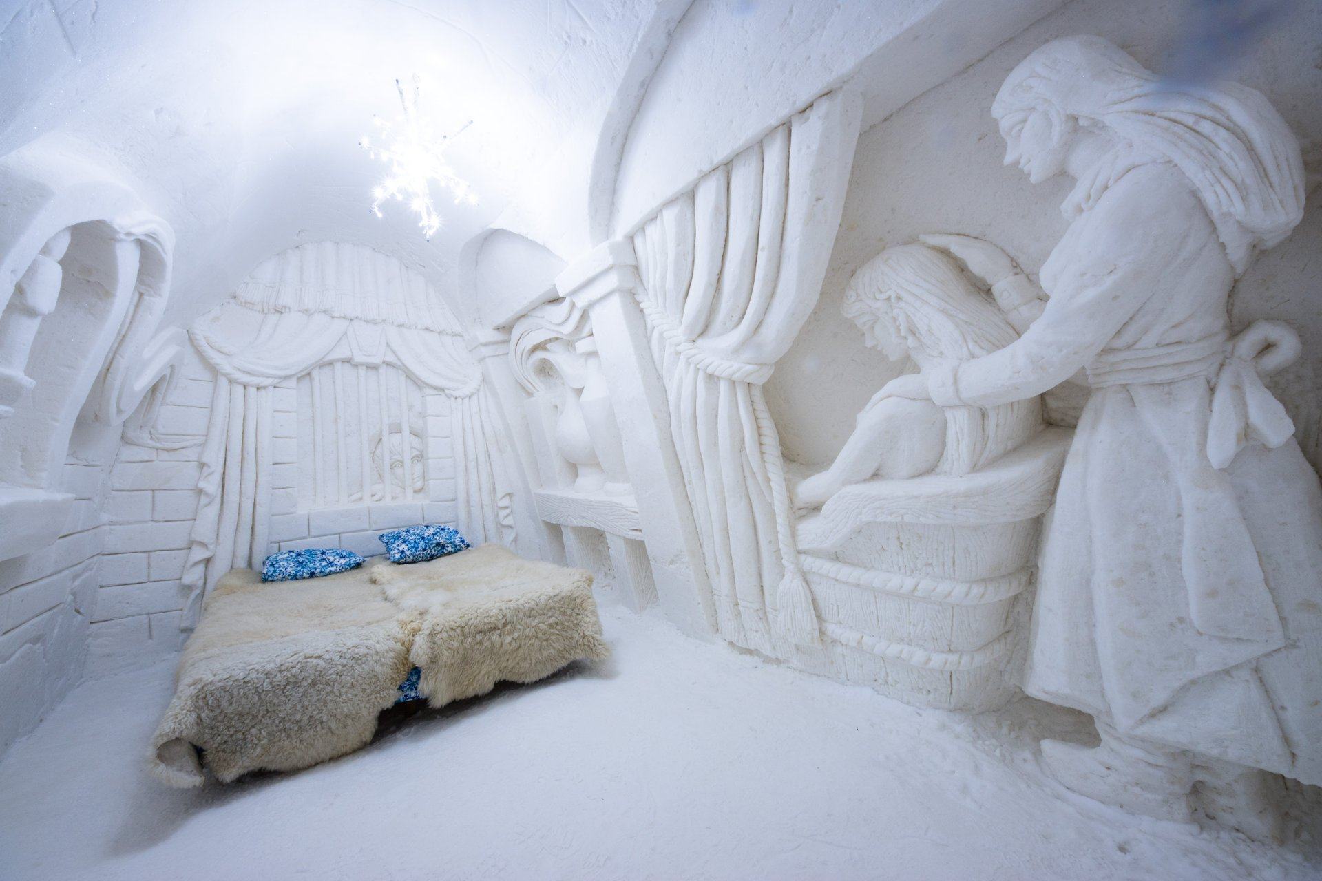 Snowcastle in Kemi 2019