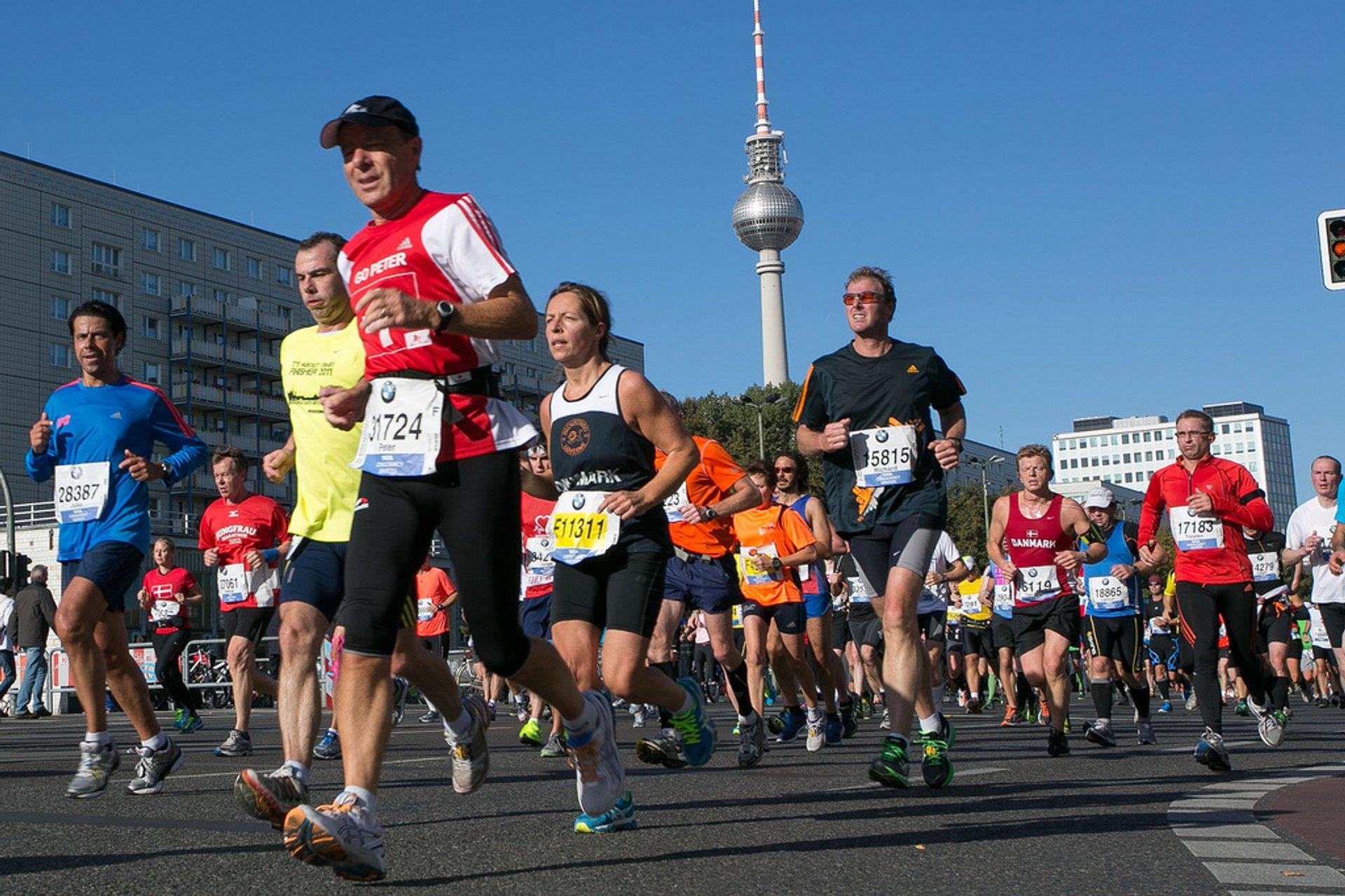 Best time for BMW Berlin Marathon in Berlin 2020