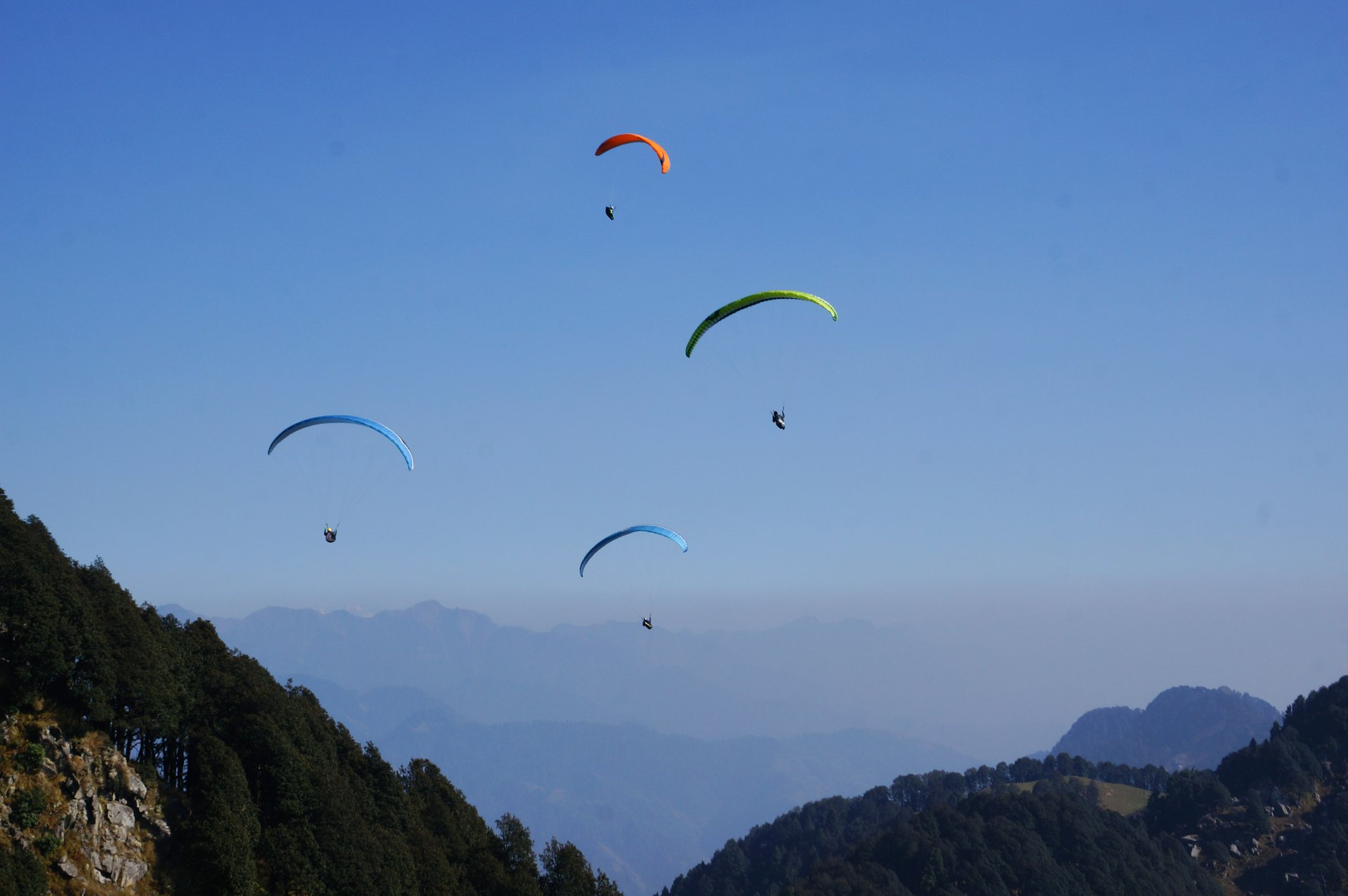Paragliding in India 2019 - Best Time