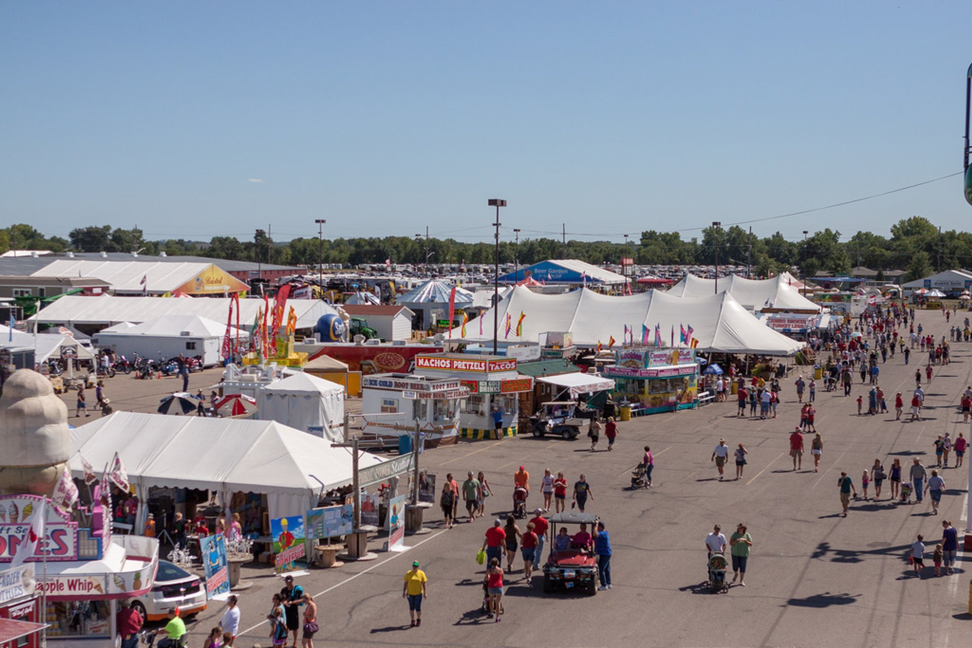 Best time for Nebraska State Fair in Midwest 2020