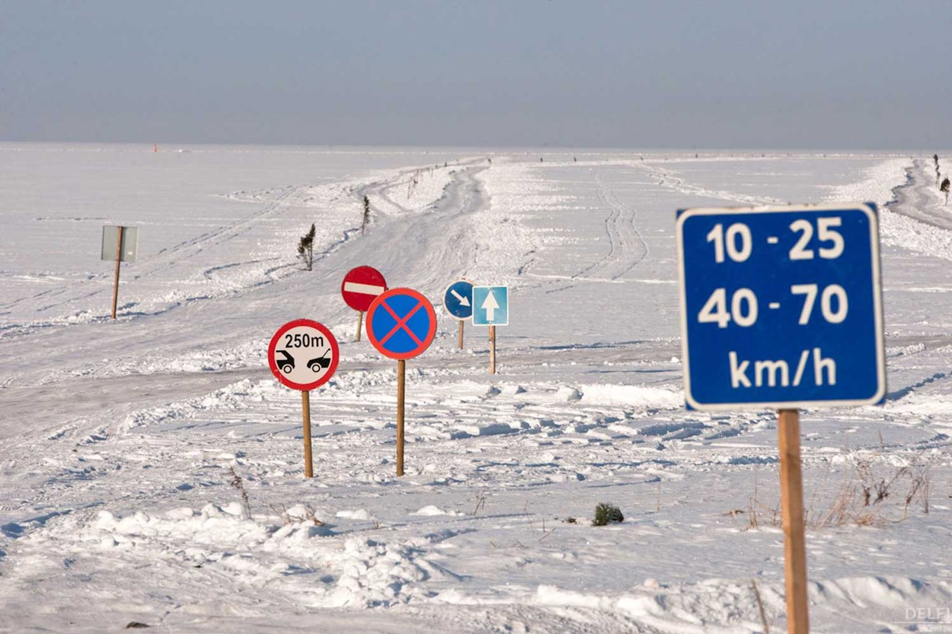 Best time to see Ice Roads in Estonia 2019
