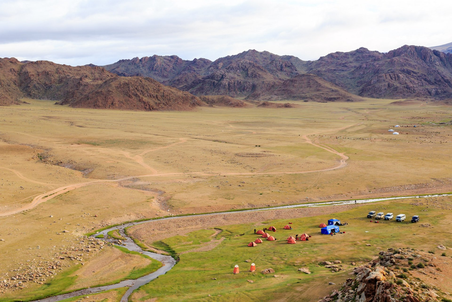 Best time for Trekking in the Altai in Mongolia 2020