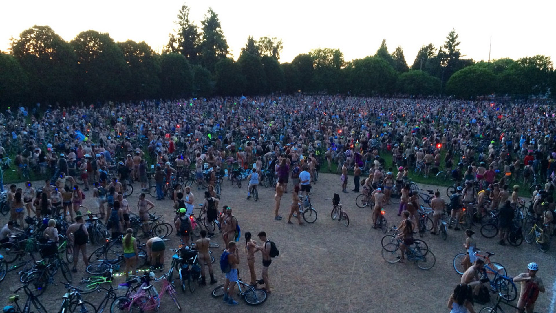 World Naked Bike Ride Portland 2020