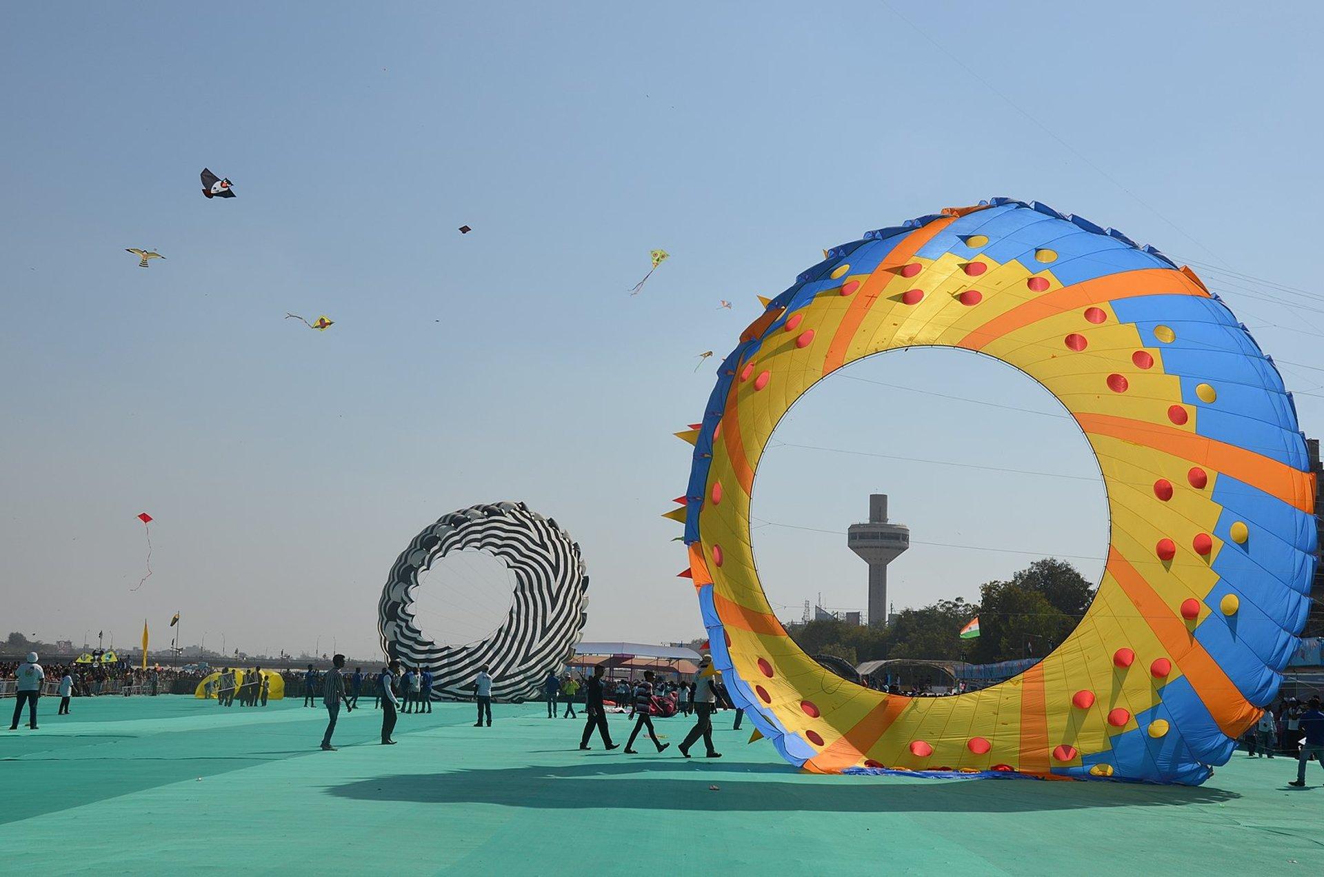International Kite Festival (Uttarayan) in India 2019 - Best Time
