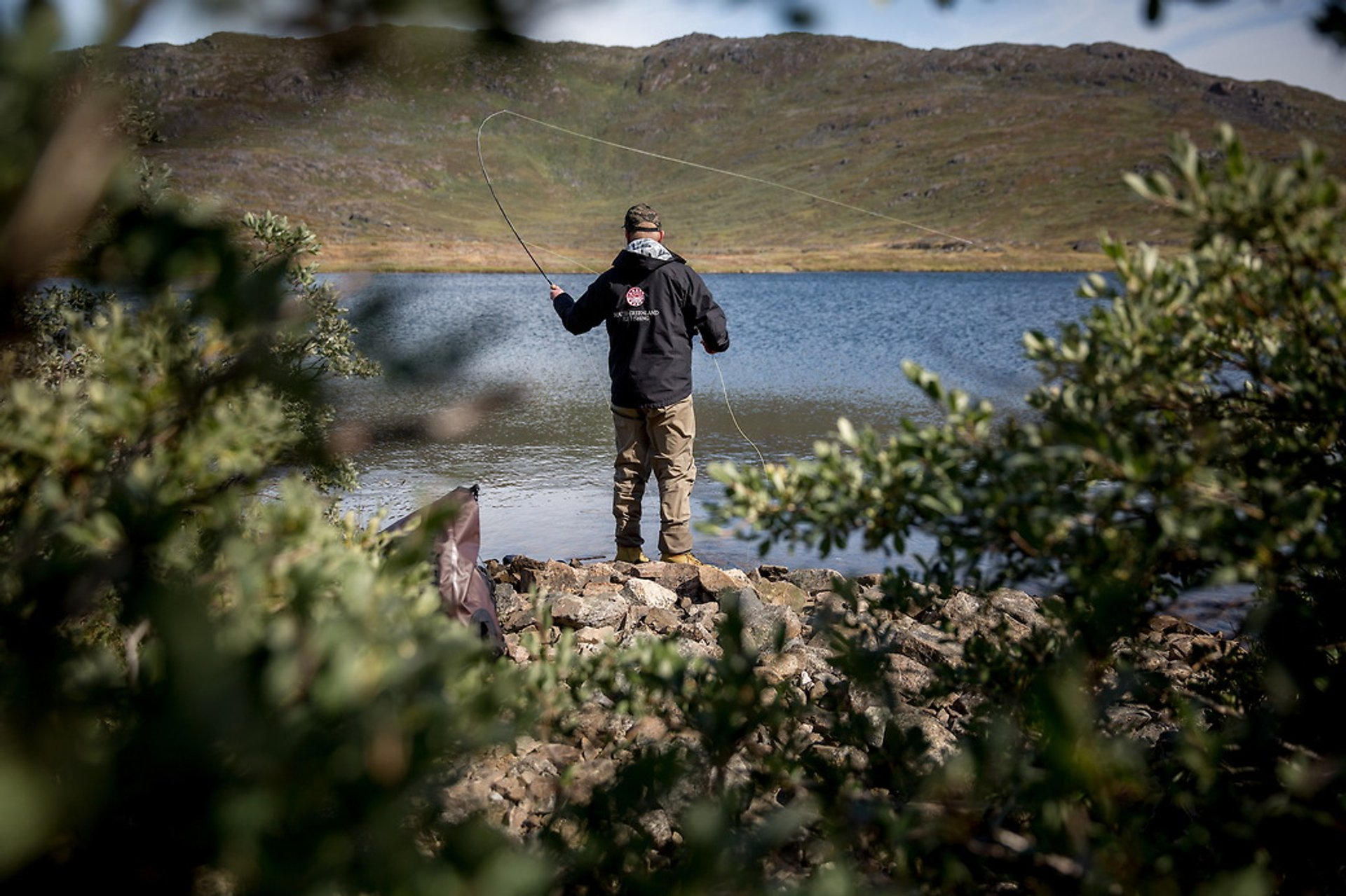 Fly fishing in the south of Greenland 2020