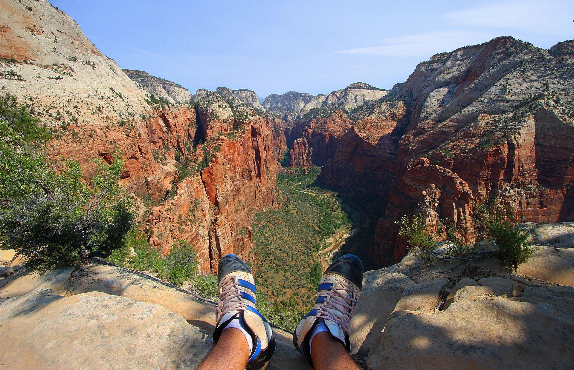 Zion Rock Climbing in Utah 2020 - Best Time