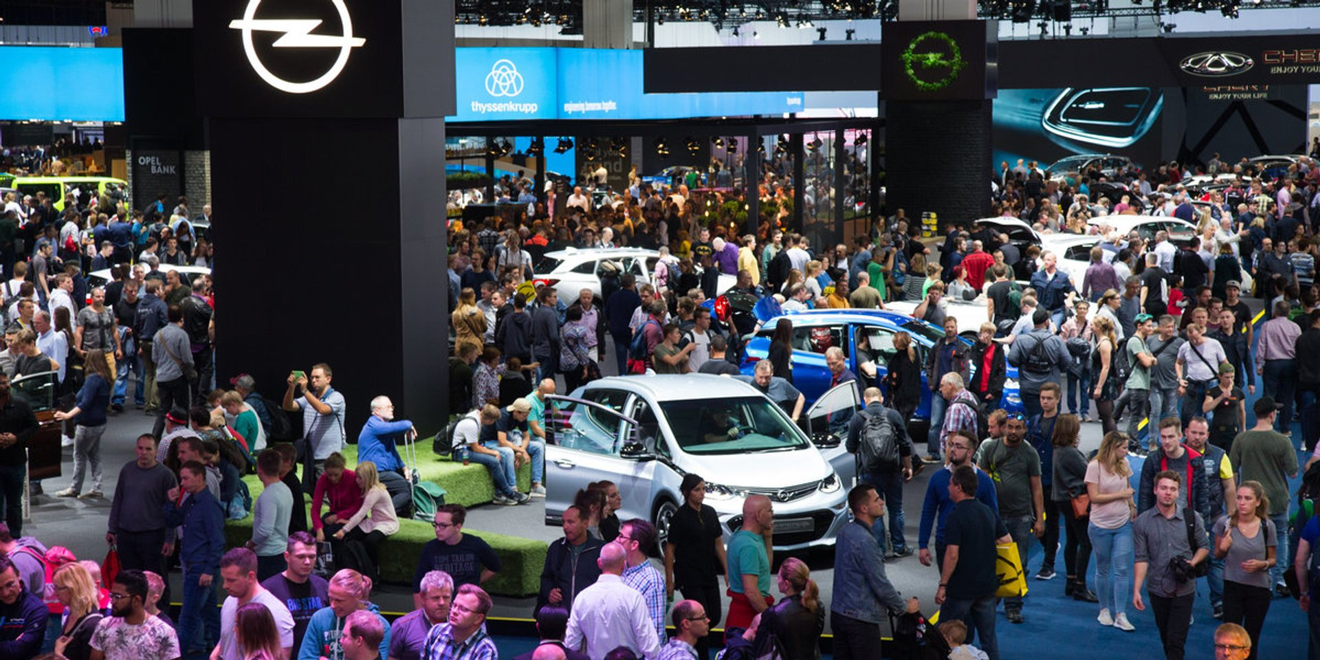 Frankfurt Auto Motor Show (IAA) in Frankfurt am Main 2019 - Best Time
